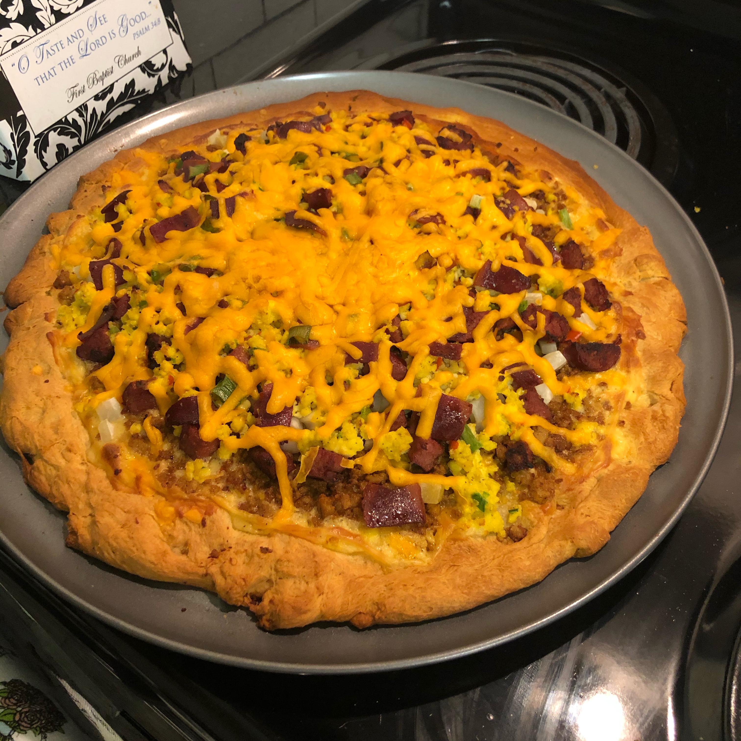 Jimmy Dean Sausage Breakfast Pizza Justin Charles Tucker