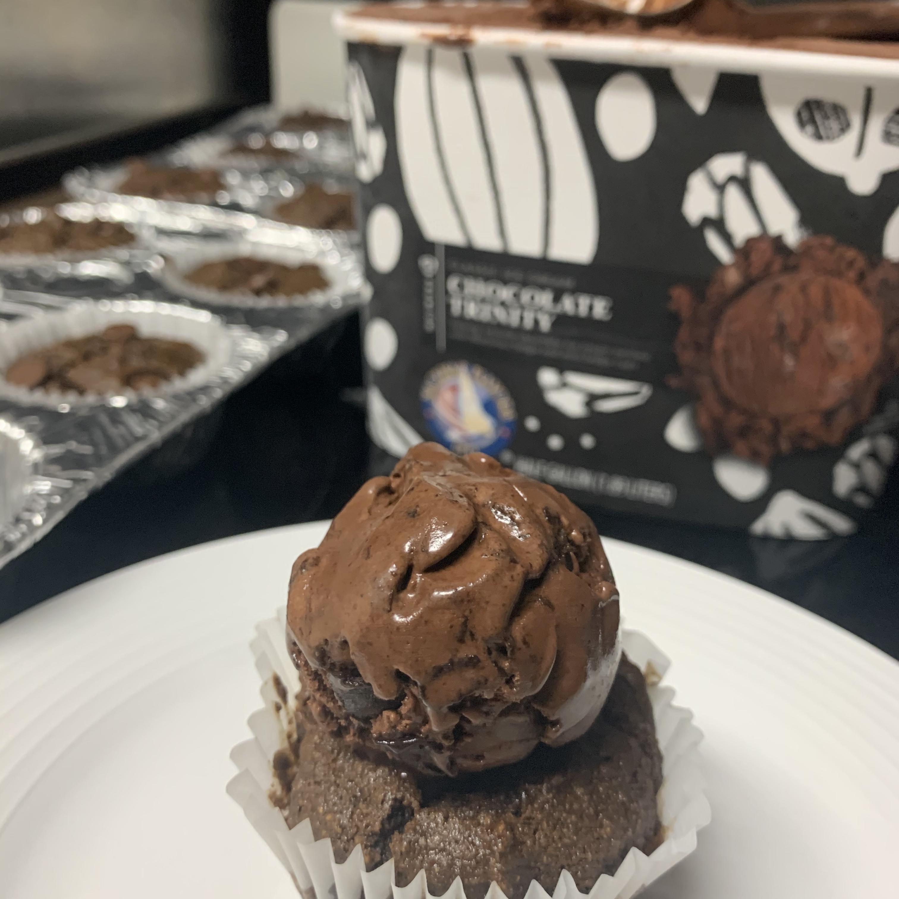 Chocolate Carrot Cupcakes