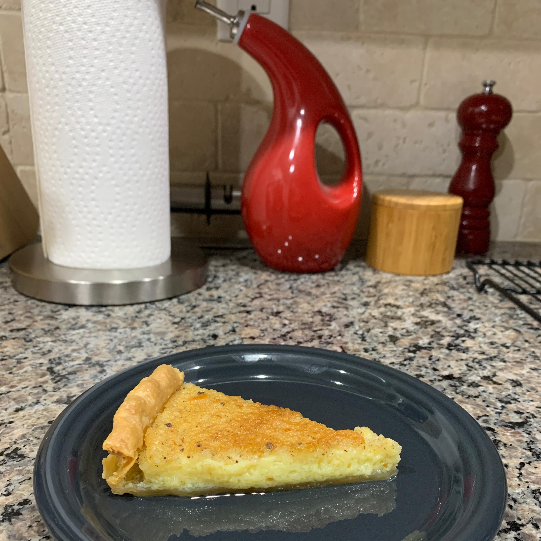 Egg Custard Pie III