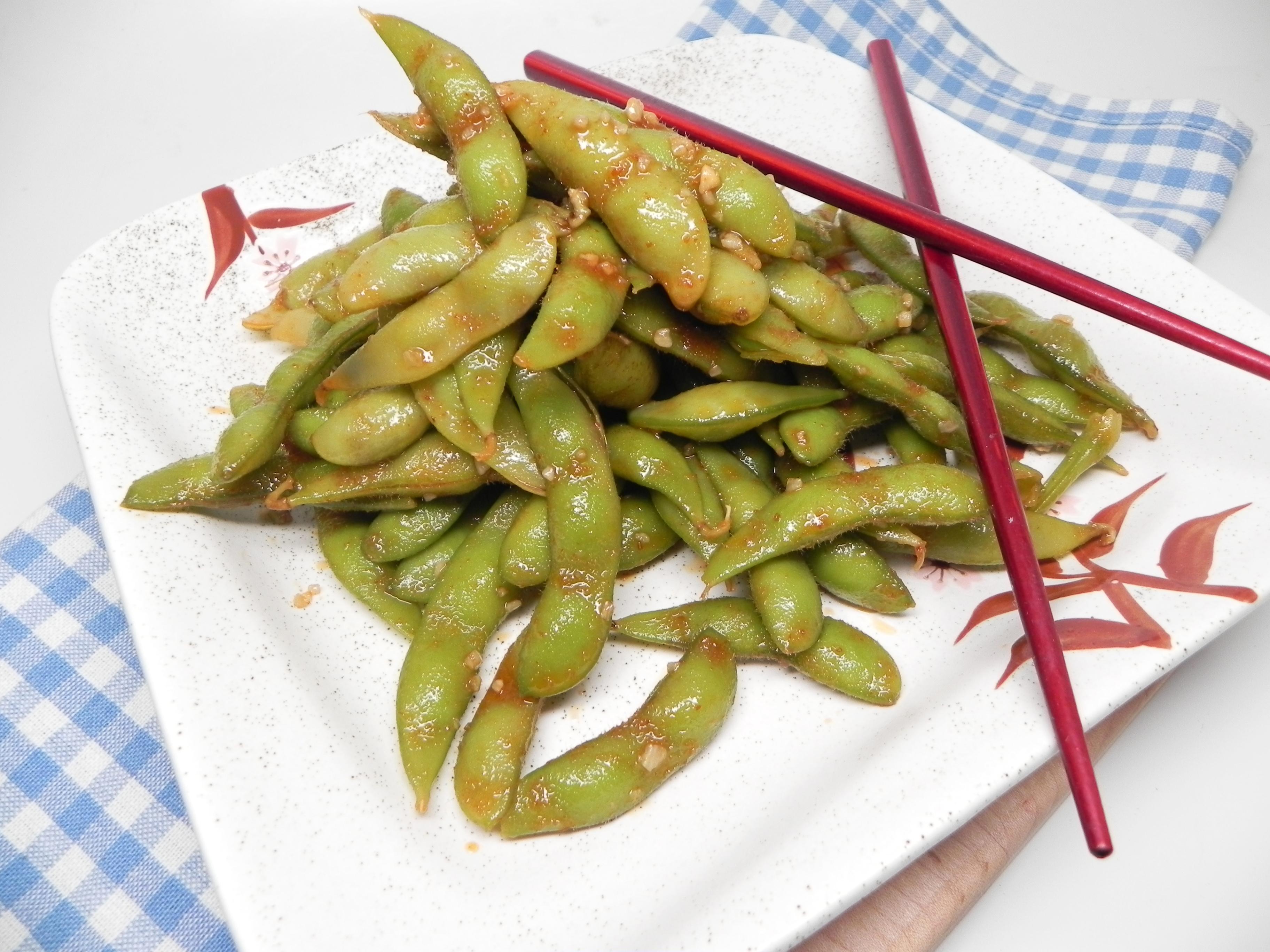 Instant Pot® Spicy Edamame