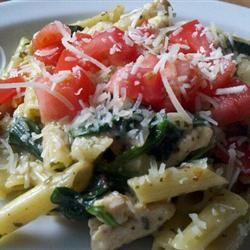 Pesto Chicken Florentine