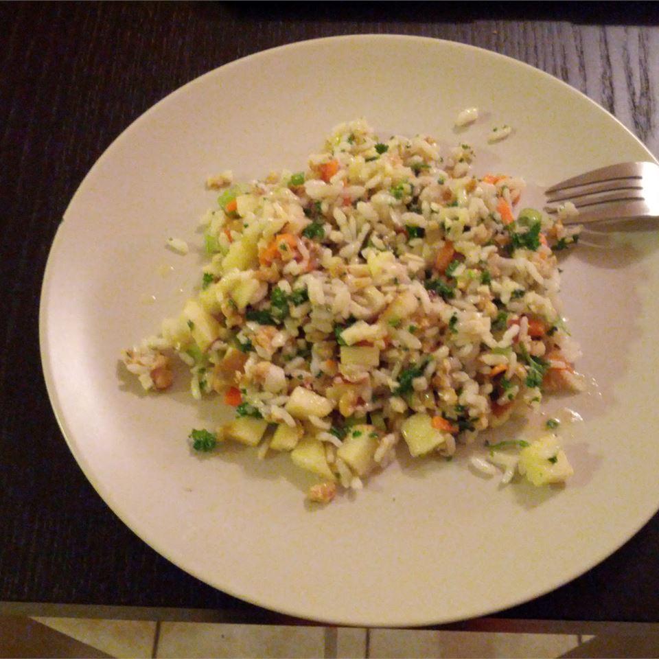 Walnut Rice Salad kolibeer