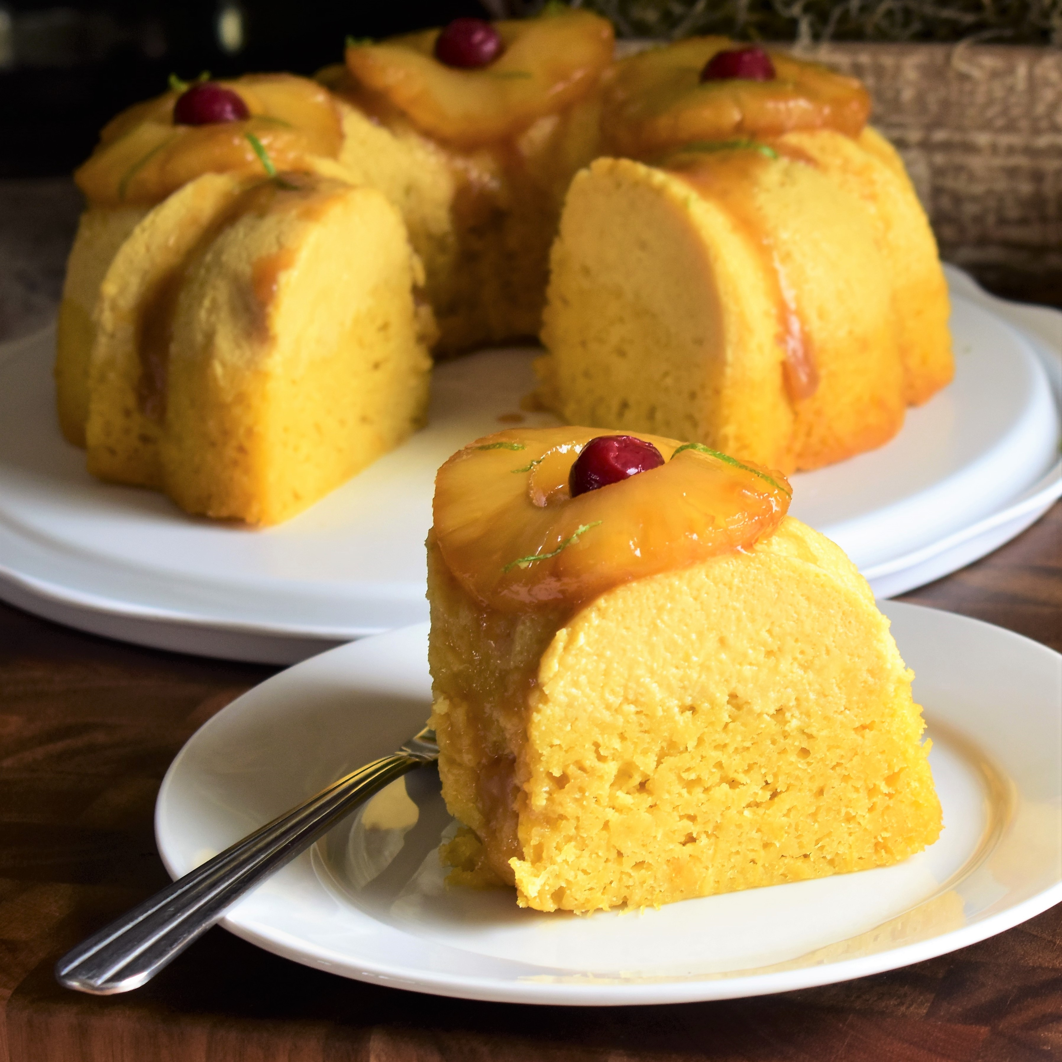 Pineapple-Lime Impossible Cake Kim