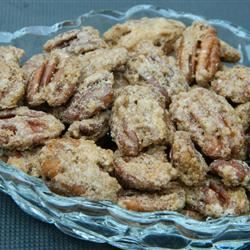 The Best Roasted Pecans