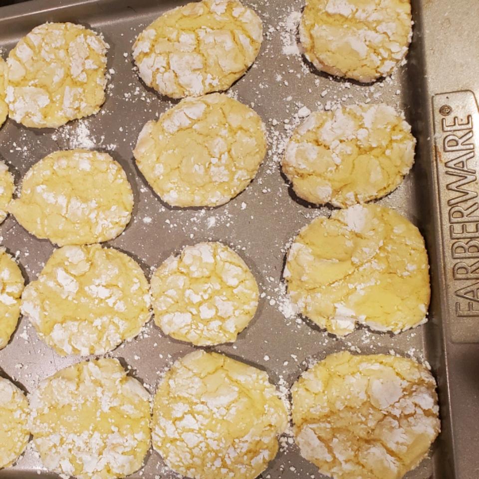 Easy Lemon Cookies Sherri Franklin