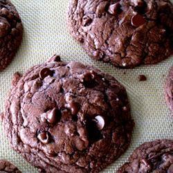 Chocolate Fudge Cookies MommyFromSeattle