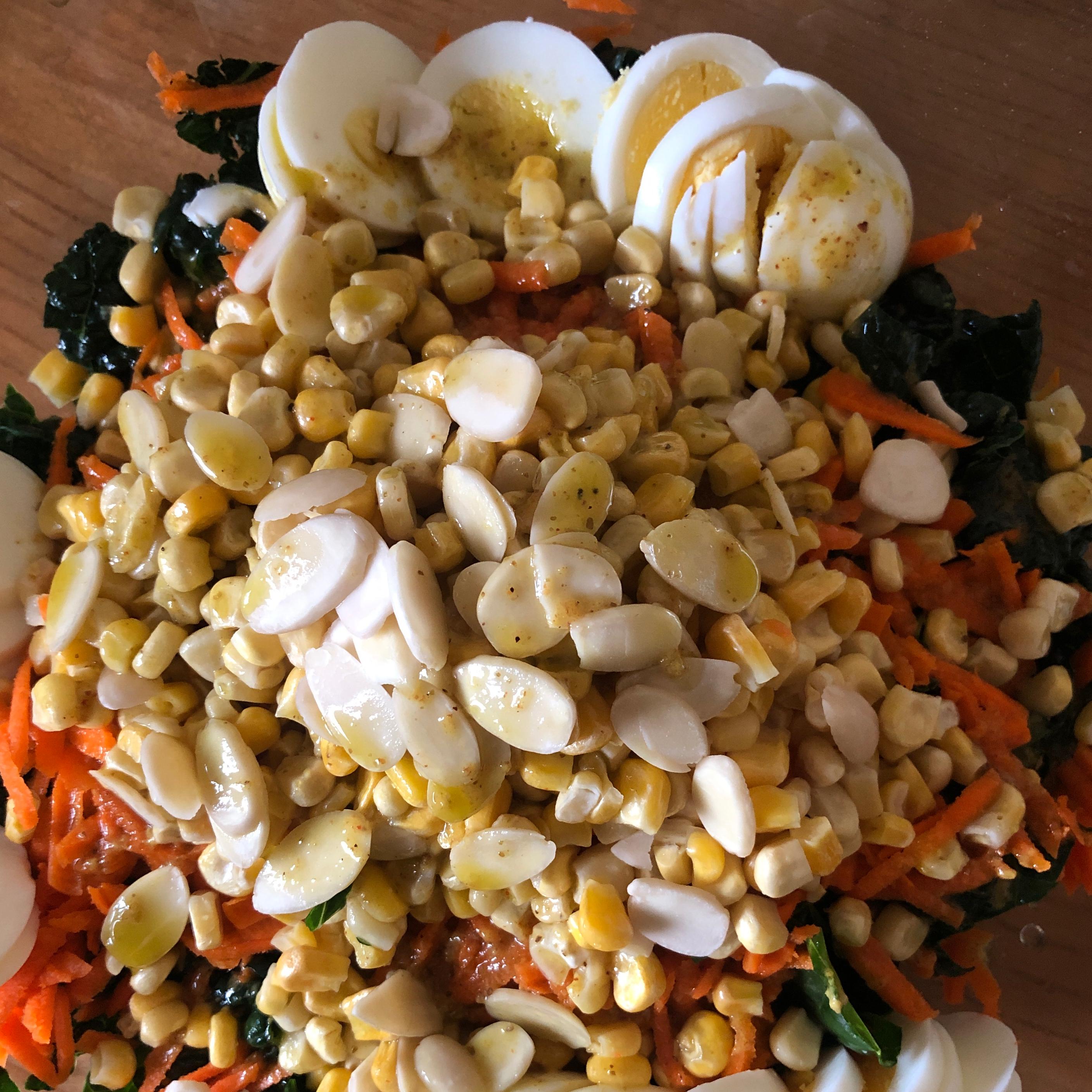 The Best Kale Salad Mindy J's