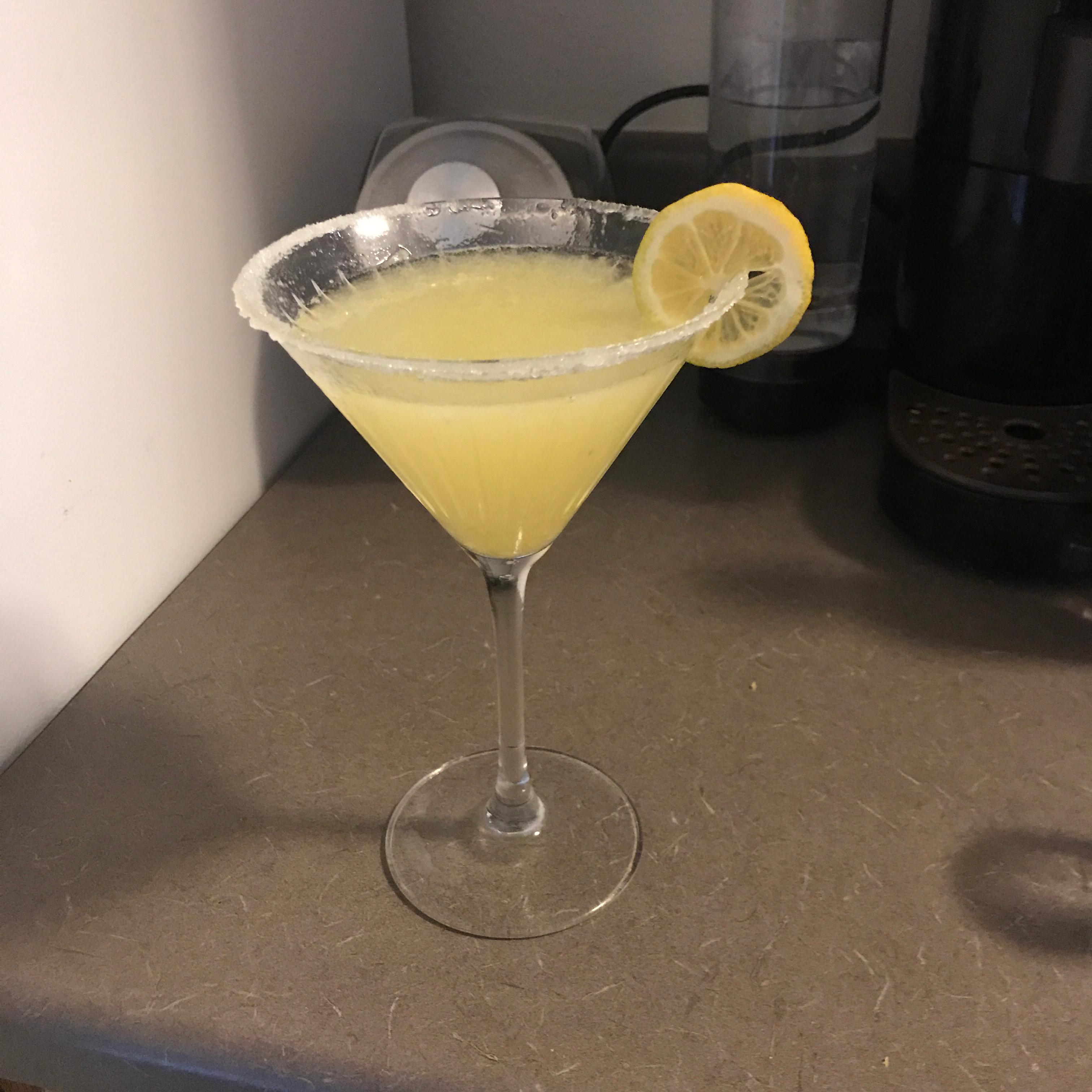 Lemony Lemon Drop Martini kellsbells