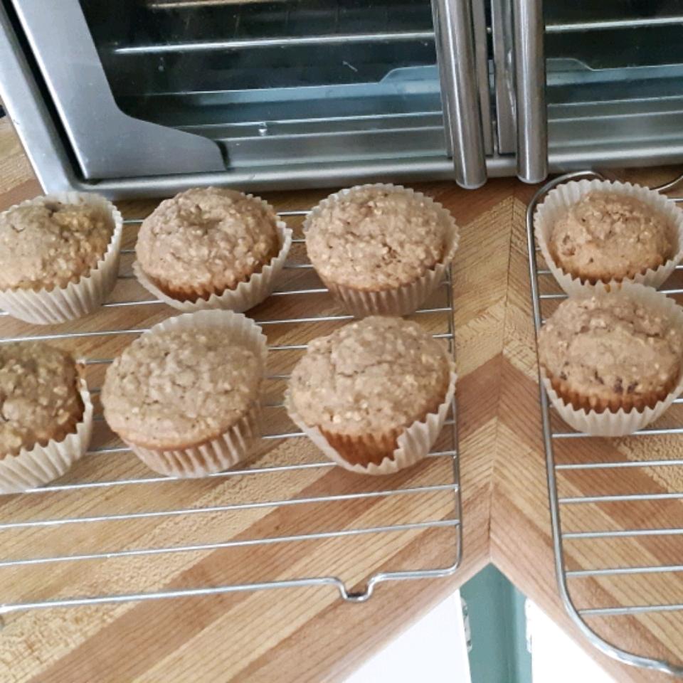 Brown Butter Oatmeal Muffins
