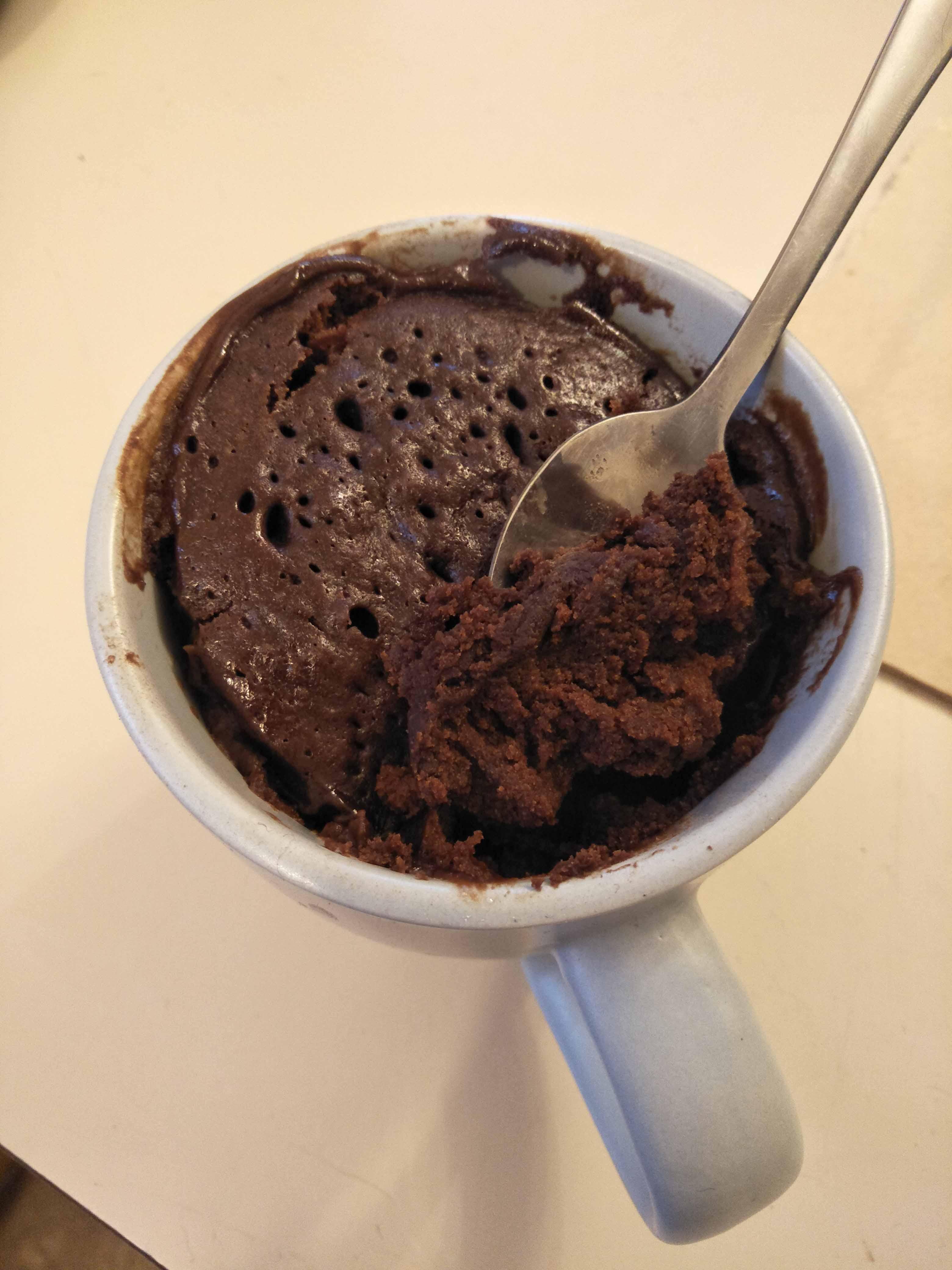 No Egg Chocolate Mug Cake Emily McClarron