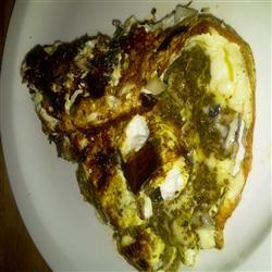 Portobello Pesto Egg Omelette Jennifer C. Martin