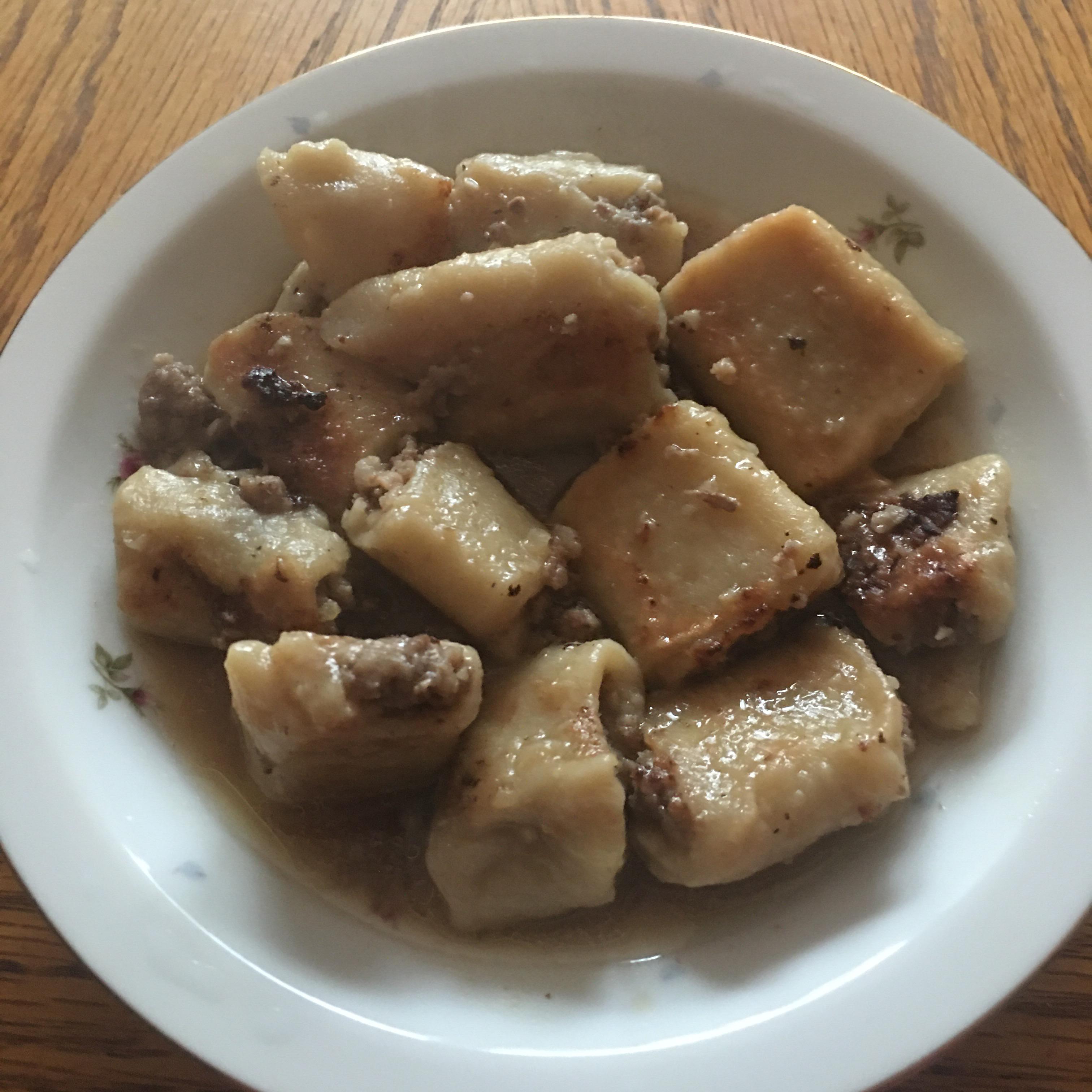 Lazy Pork Dumplings Christine Southard