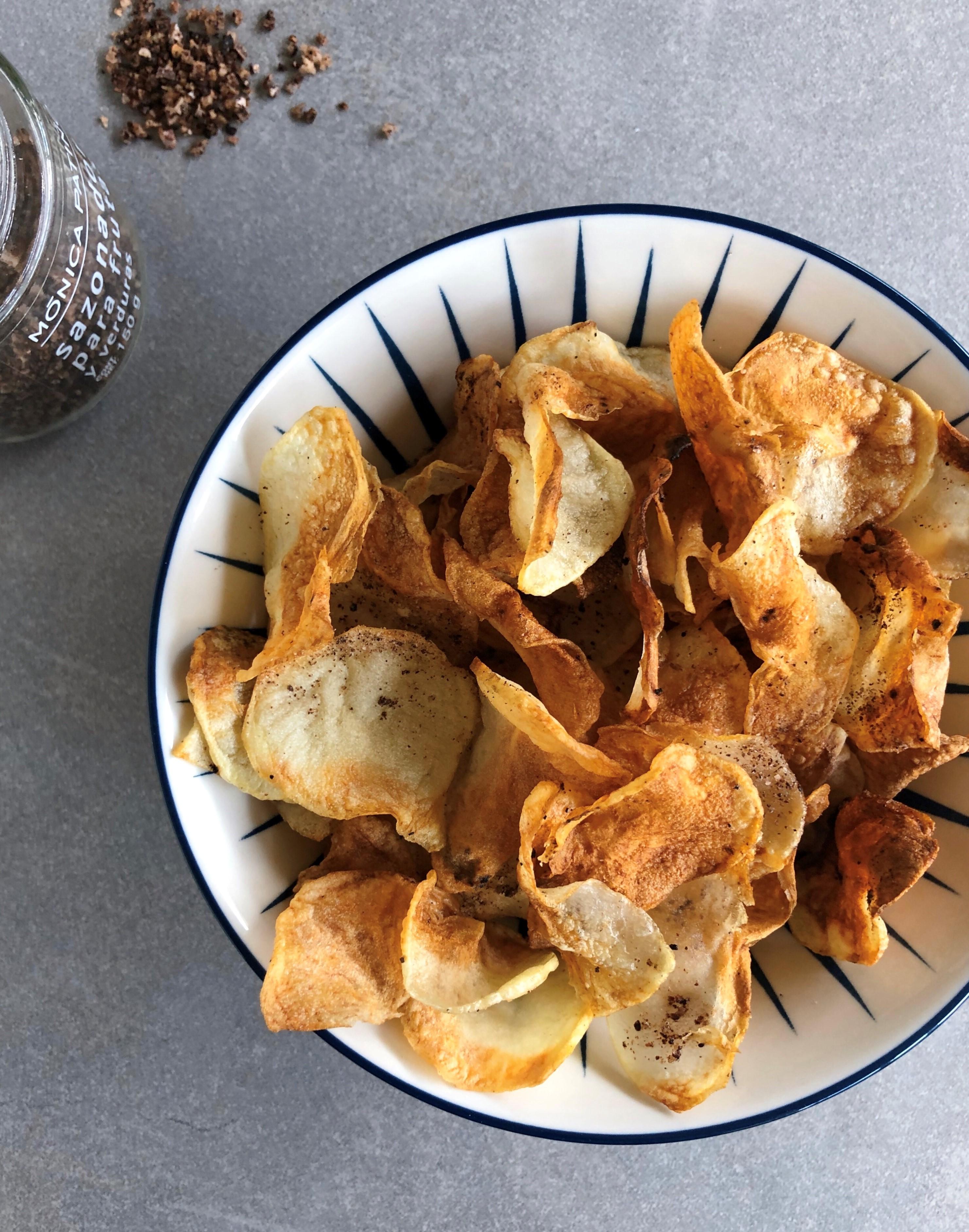 Air Fryer Potato Chips LauraF