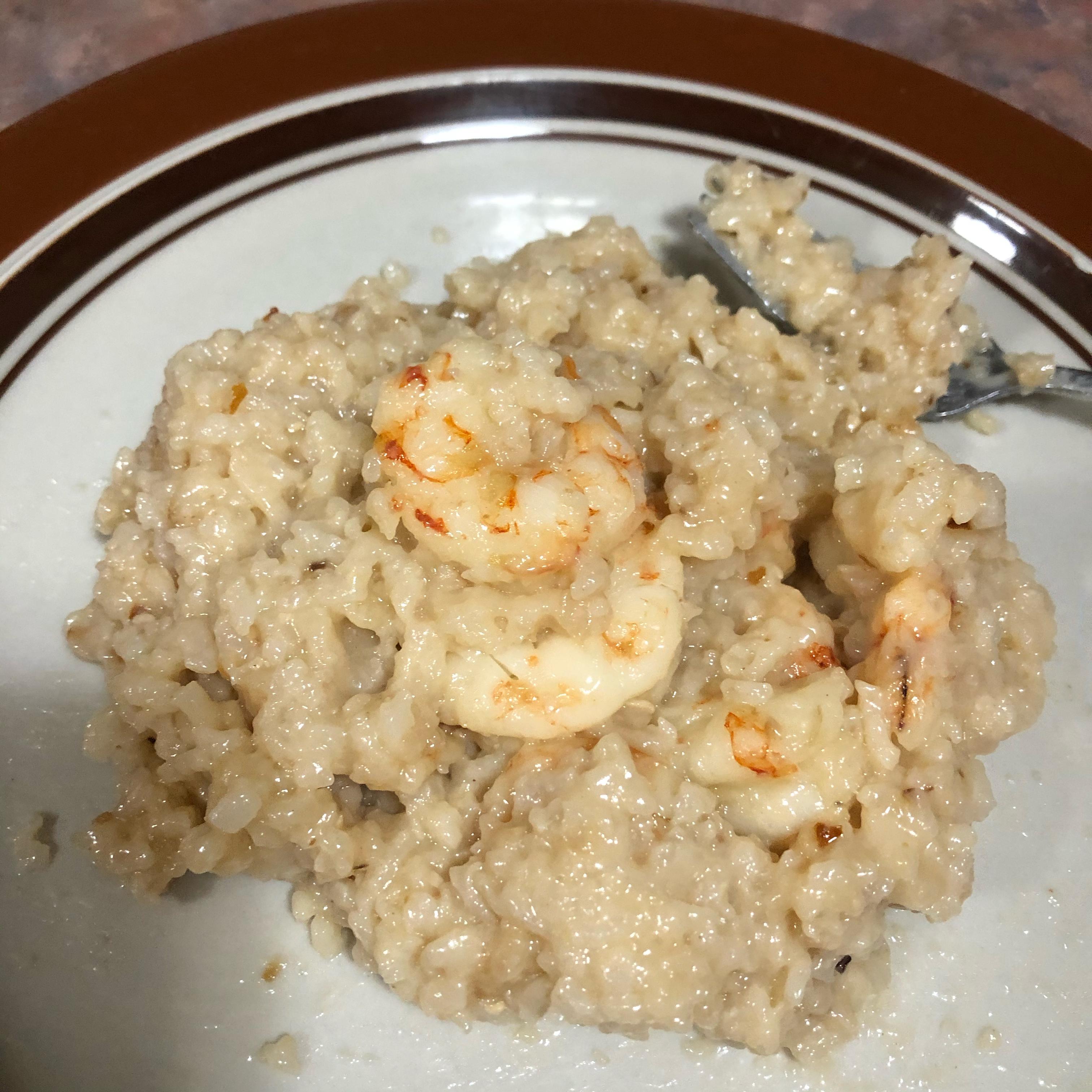 Instant Pot® Shrimp Scampi Risotto