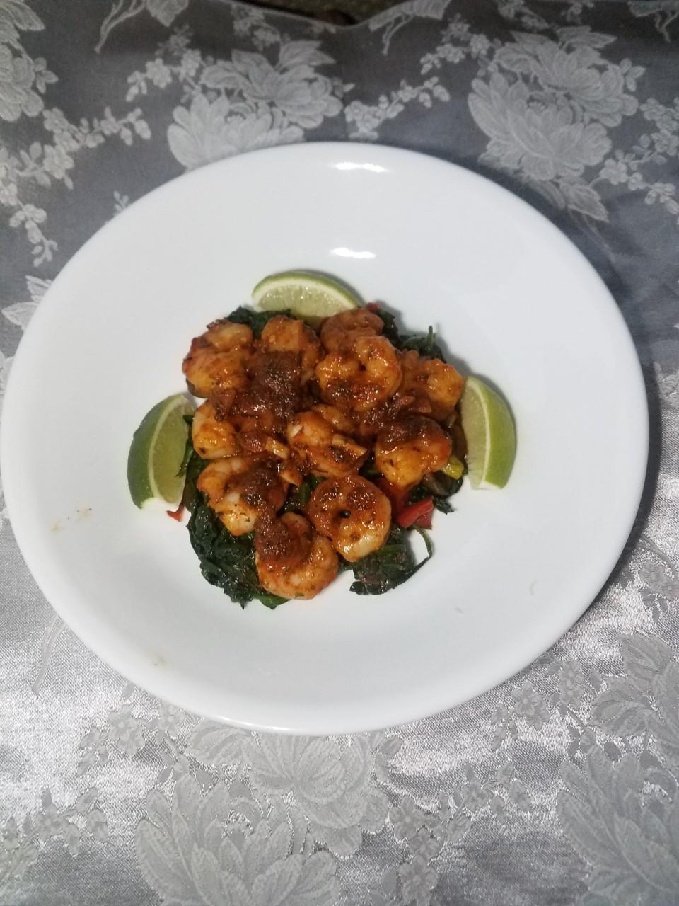 Spicy Lime Grilled Shrimp Liz Dalton 'Lizzie'