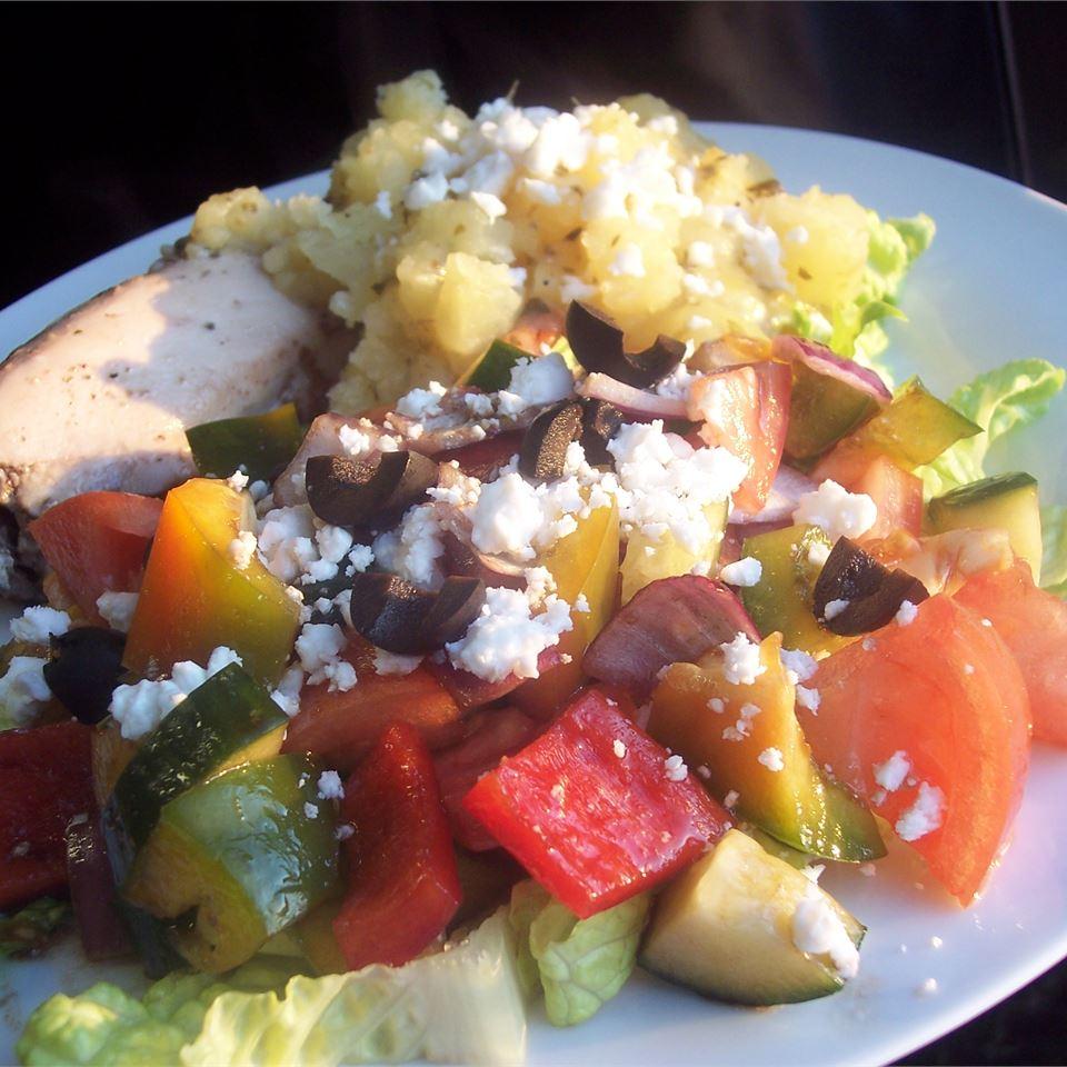 Sylvia's Easy Greek Salad Sarah-May
