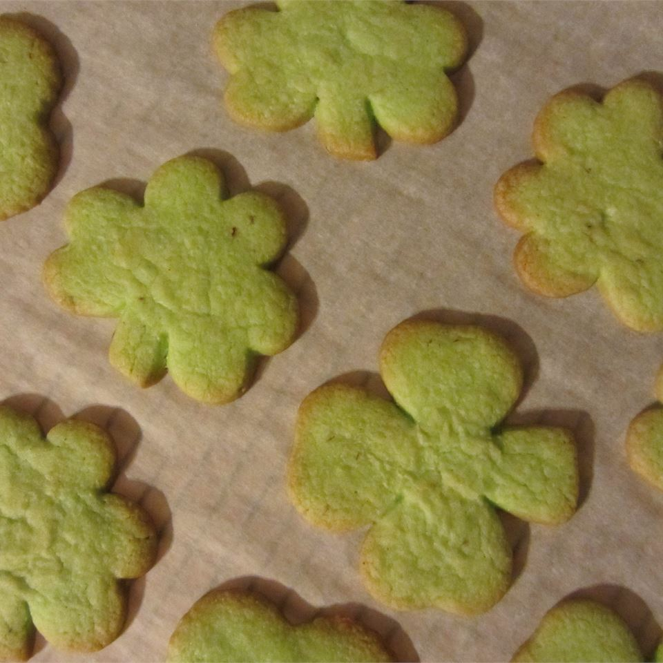 Irish Shamrock Cookies dctatman