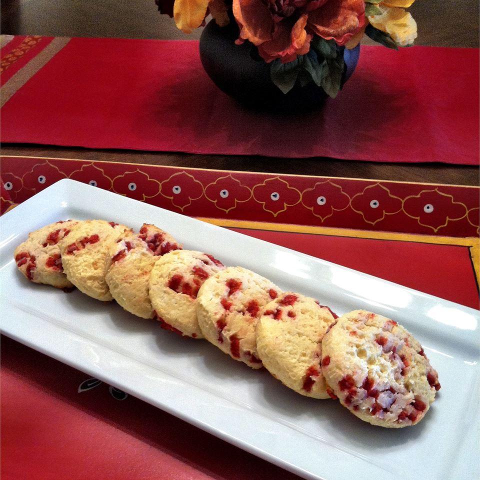 INCREDIBLE Raspberry Cheesecake Cookies LatinaCook