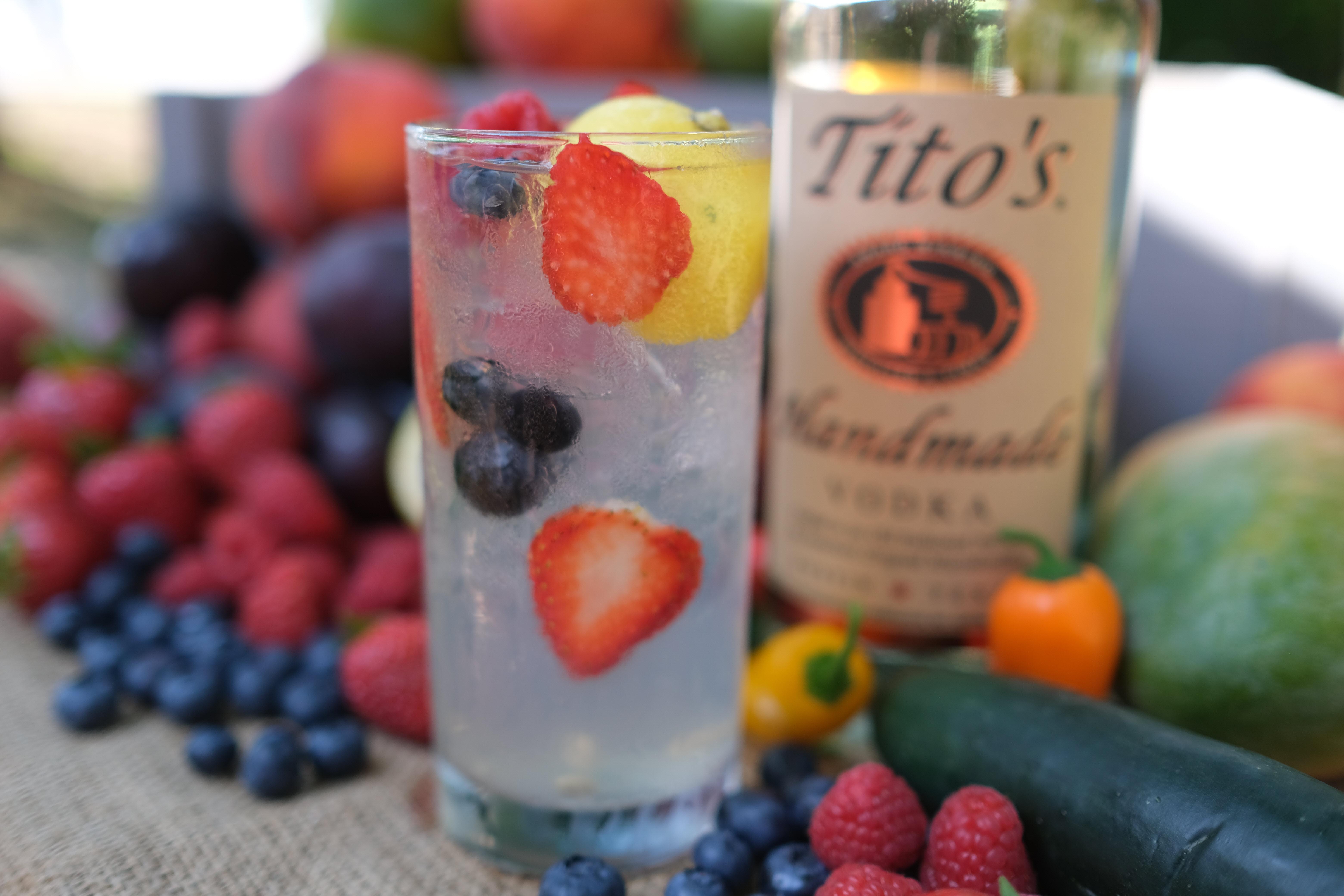 Tito's Berry Lemonade
