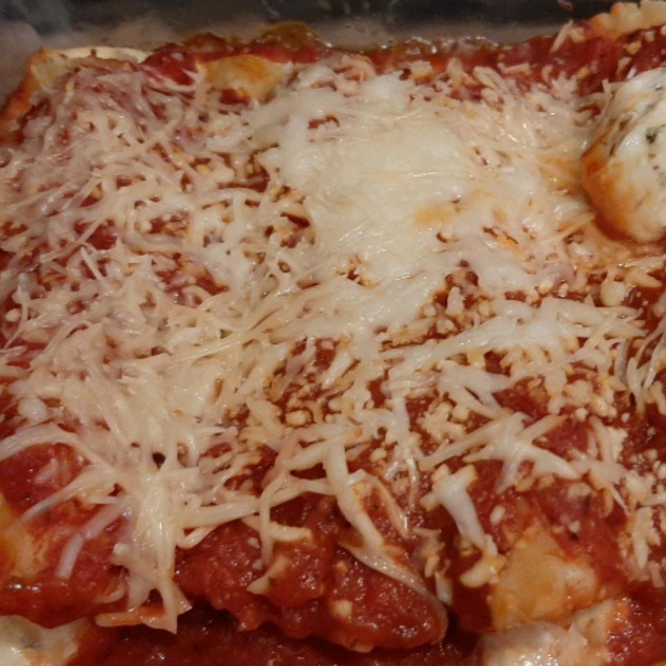 Three Cheese Manicotti II