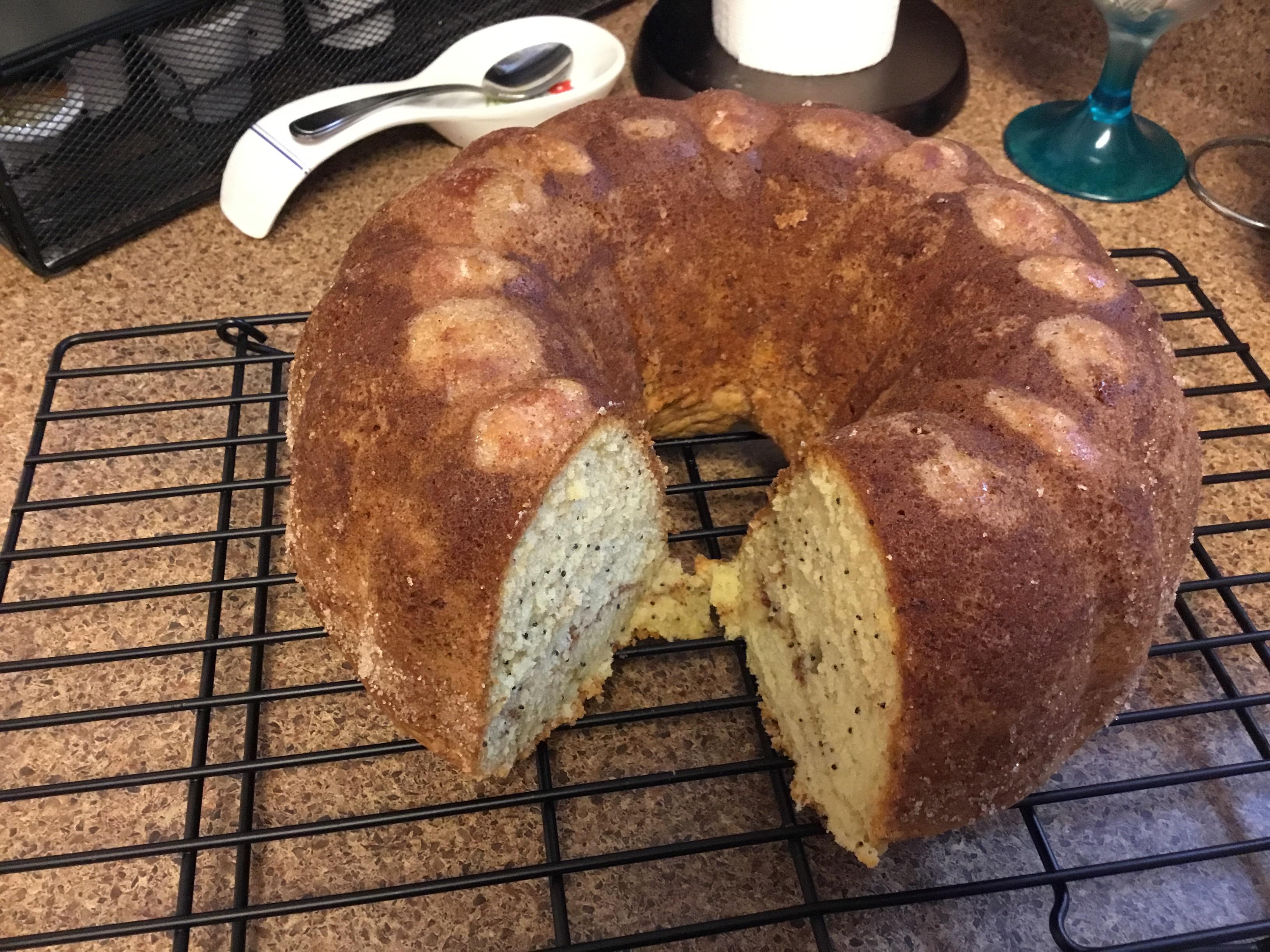 Poppy Seed Bundt Cake I