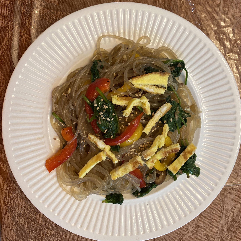 Jap Chae Korean Glass Noodles
