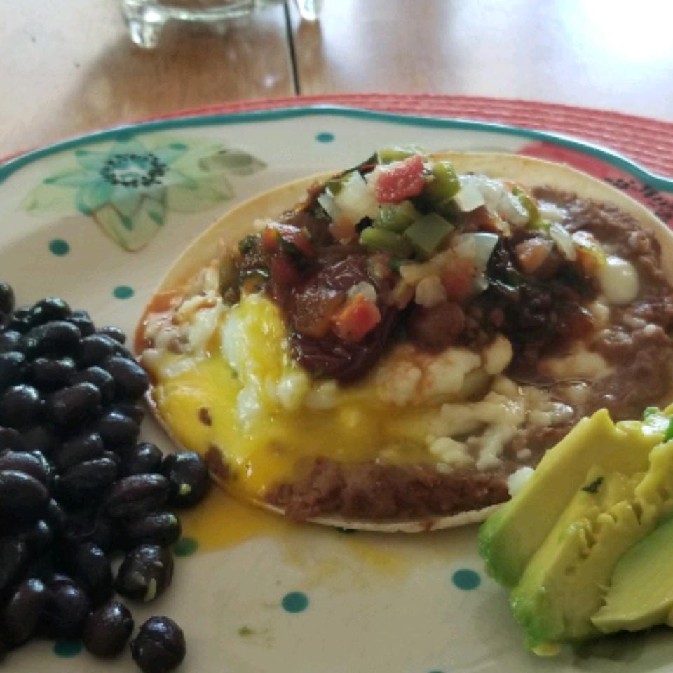 Quick and Easy Huevos Rancheros