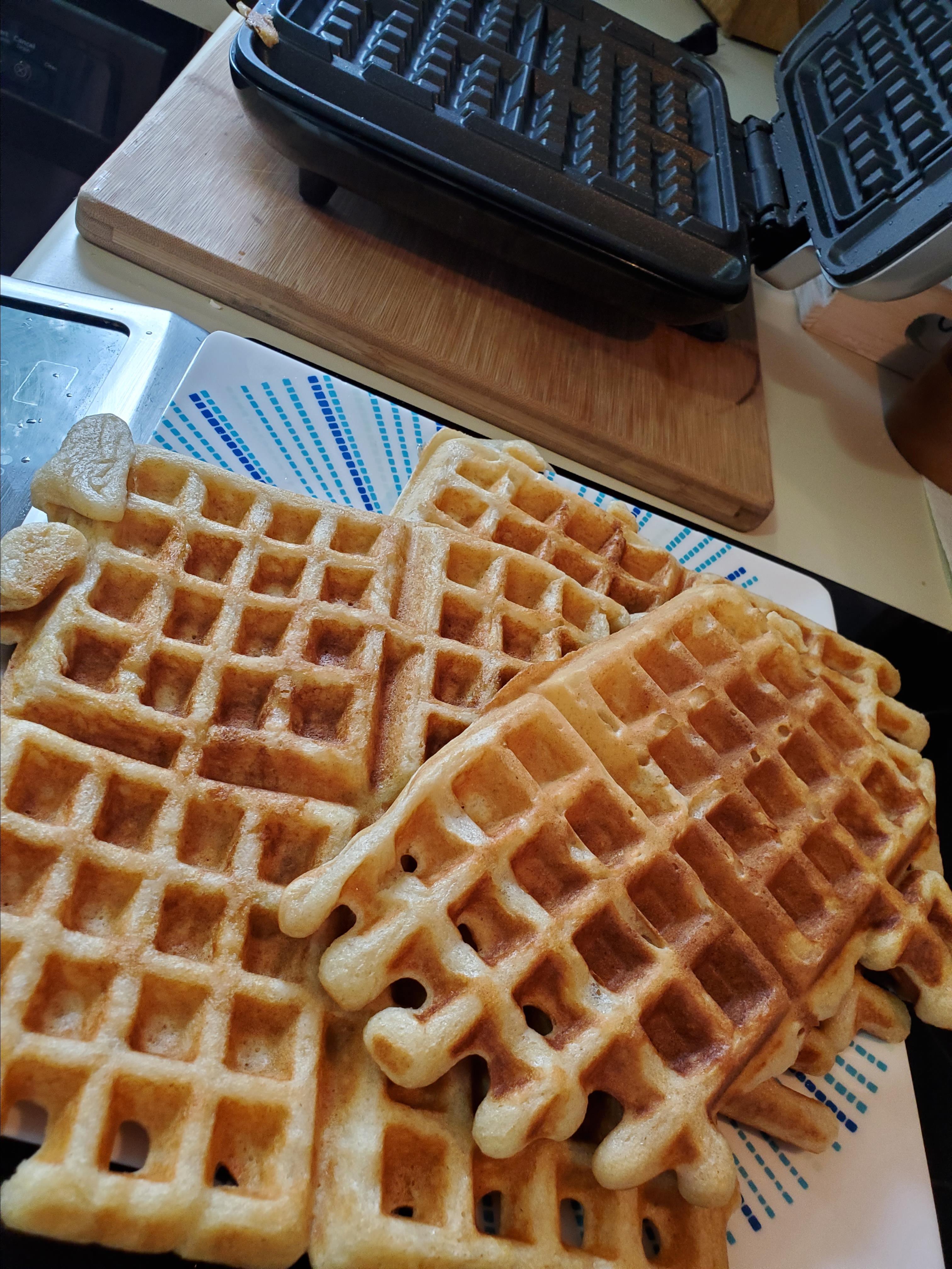 Sam's Sourdough Waffles Lauramaf