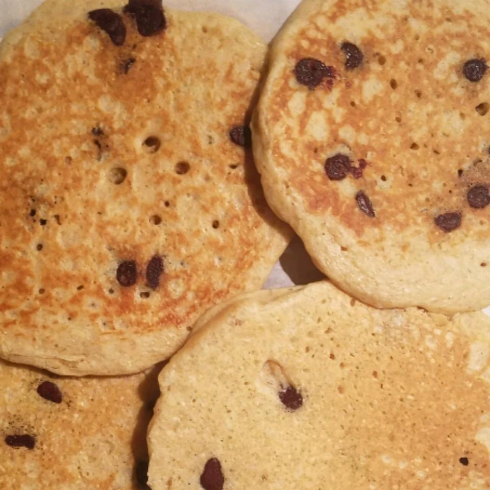 Whole Wheat Chocolate Chip Pancakes jkaypro