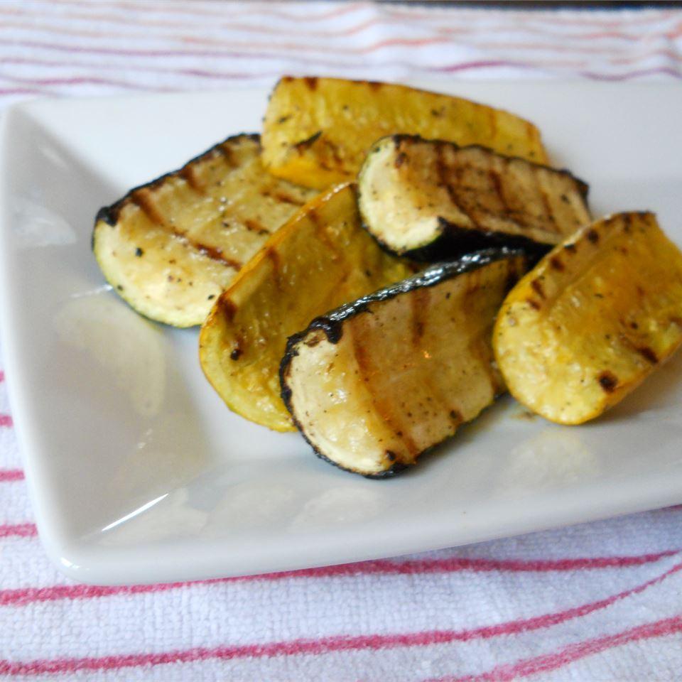 Grilled Zucchini I Rae