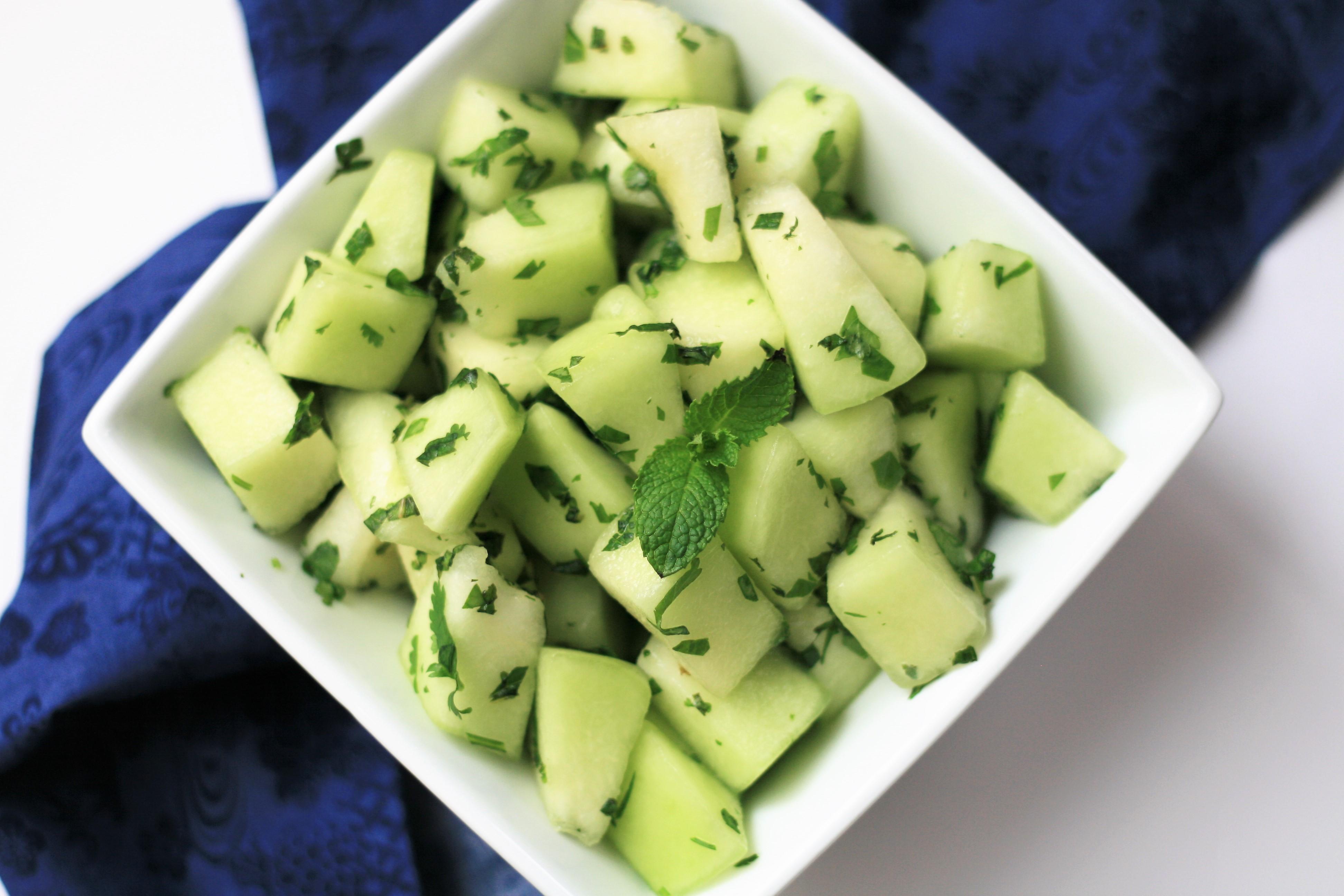 Minted Melon Summer Salad