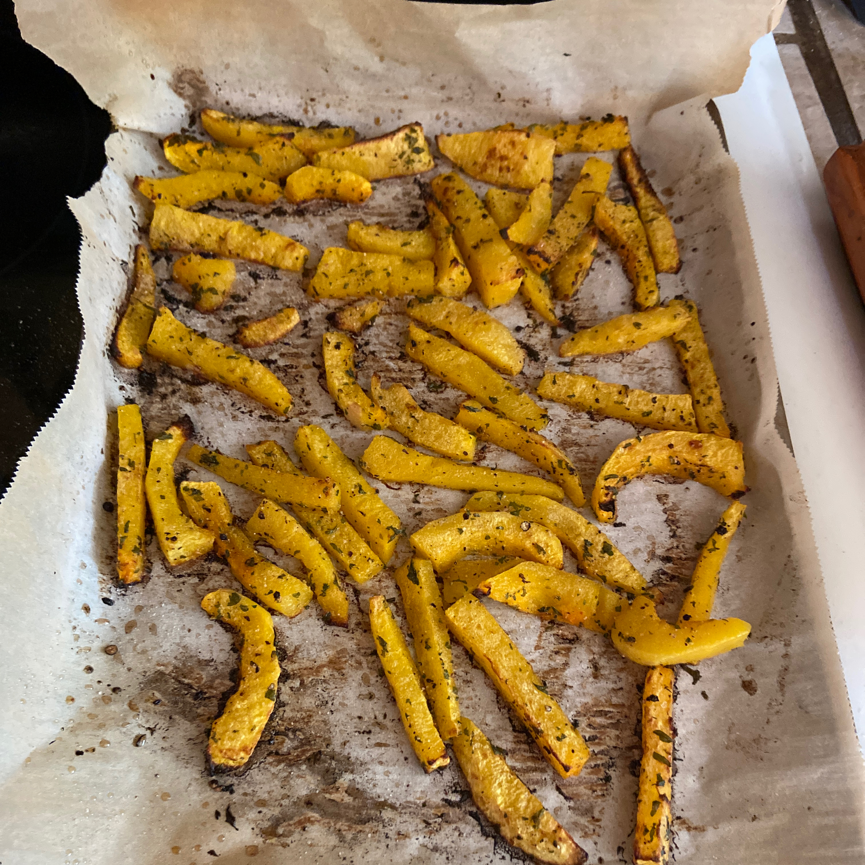 Healthier Butternut Squash Fries jstanley5513