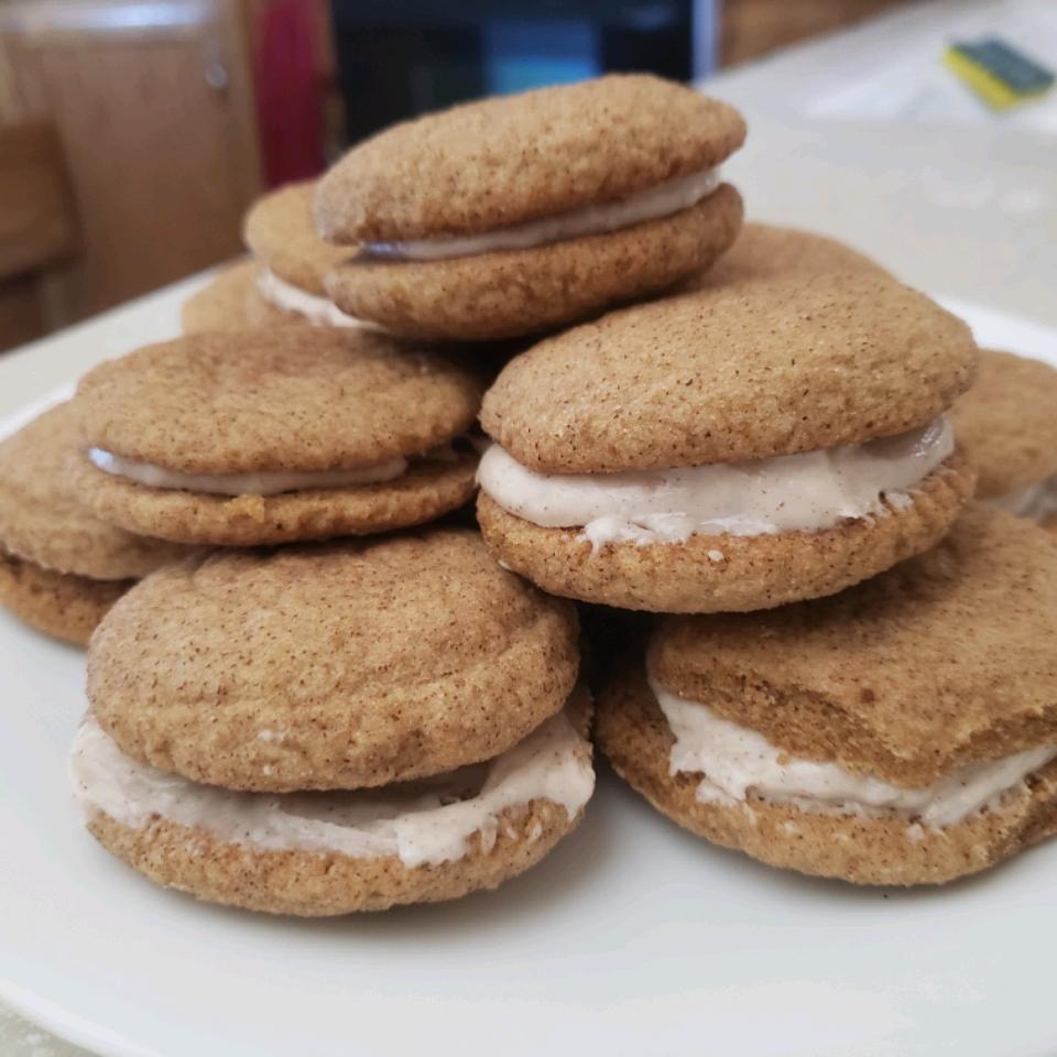 Snickerdoodle Sandwich Cookies Zoe Taylor