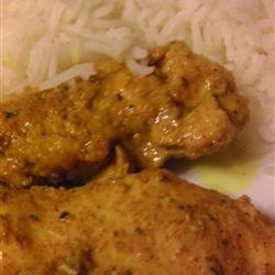 Chicken Curry III Cherries