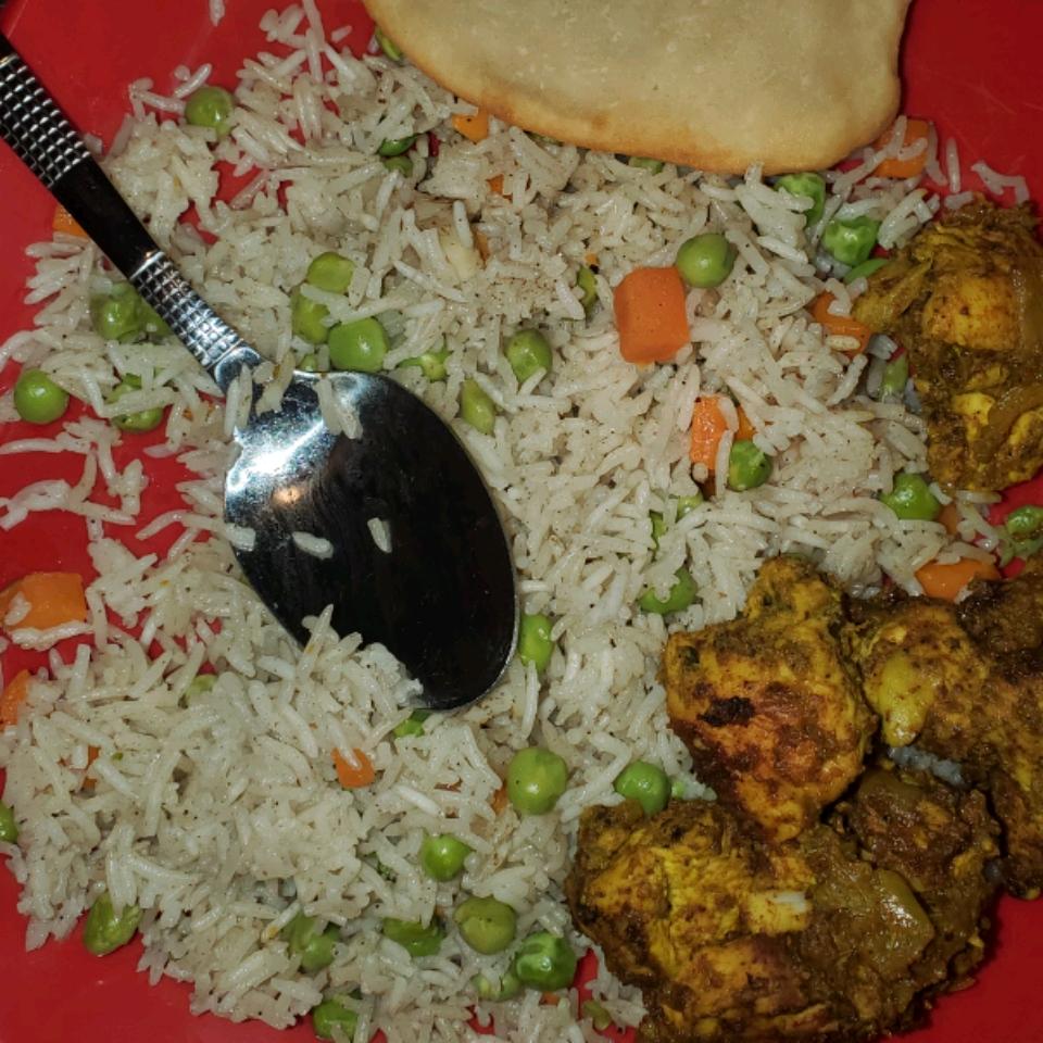 Indian Vegetable Rice BROWNIE