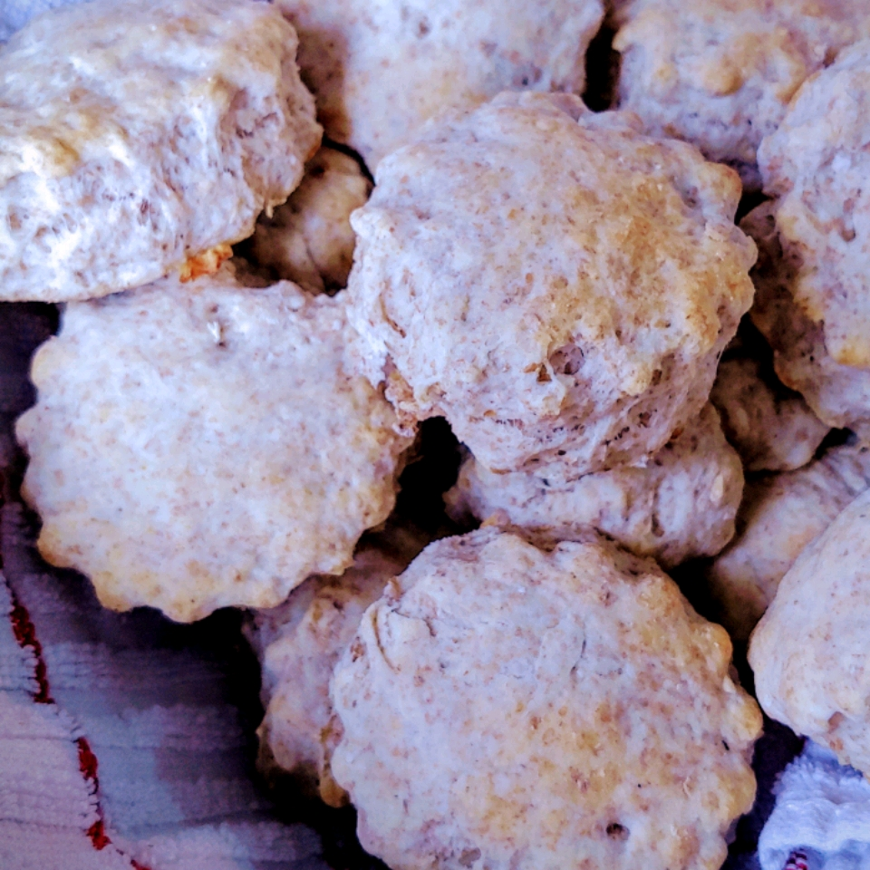 Eggless Whole Wheat Biscuits Lois