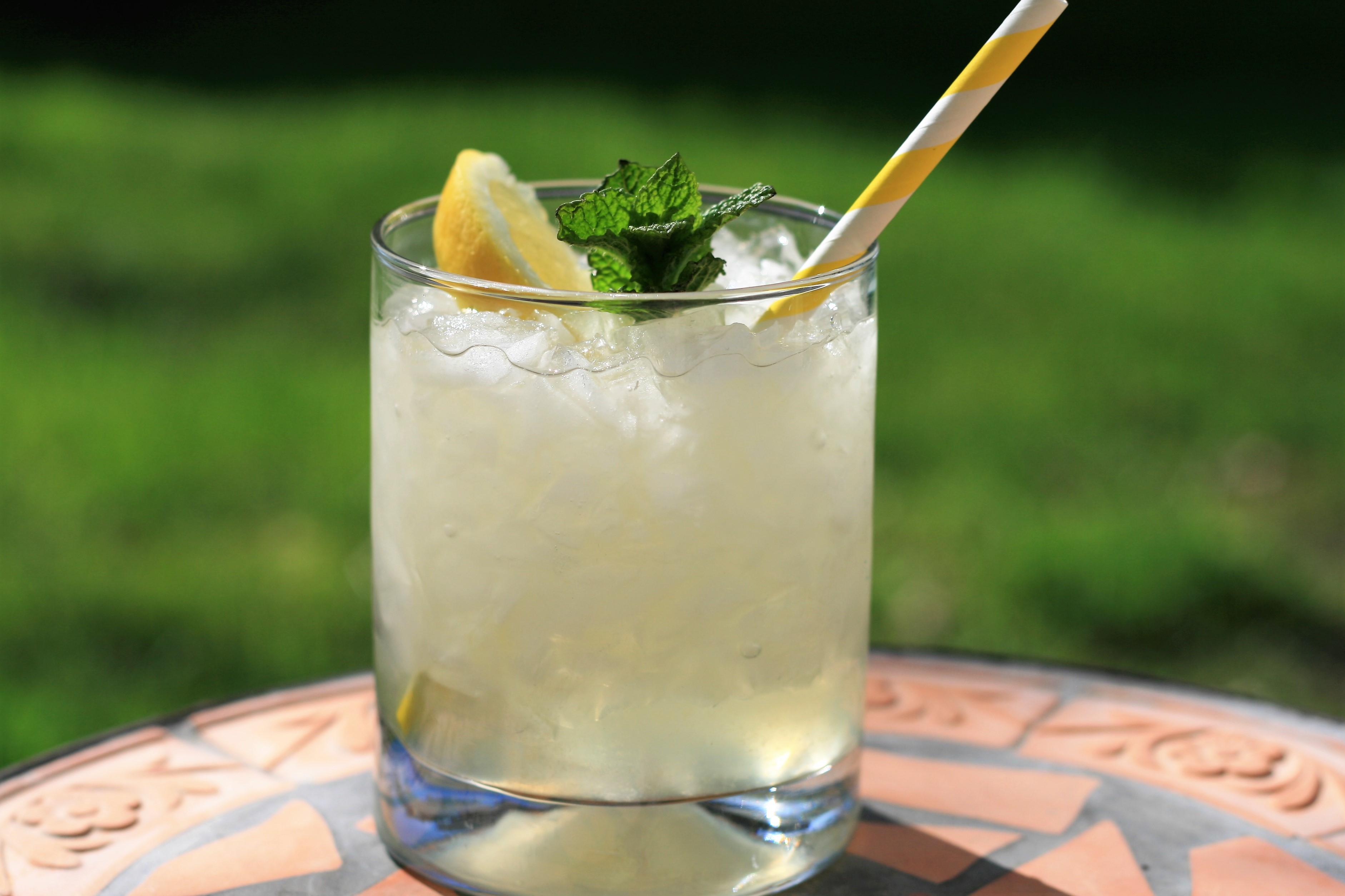 Vodka Lemonade with Mint