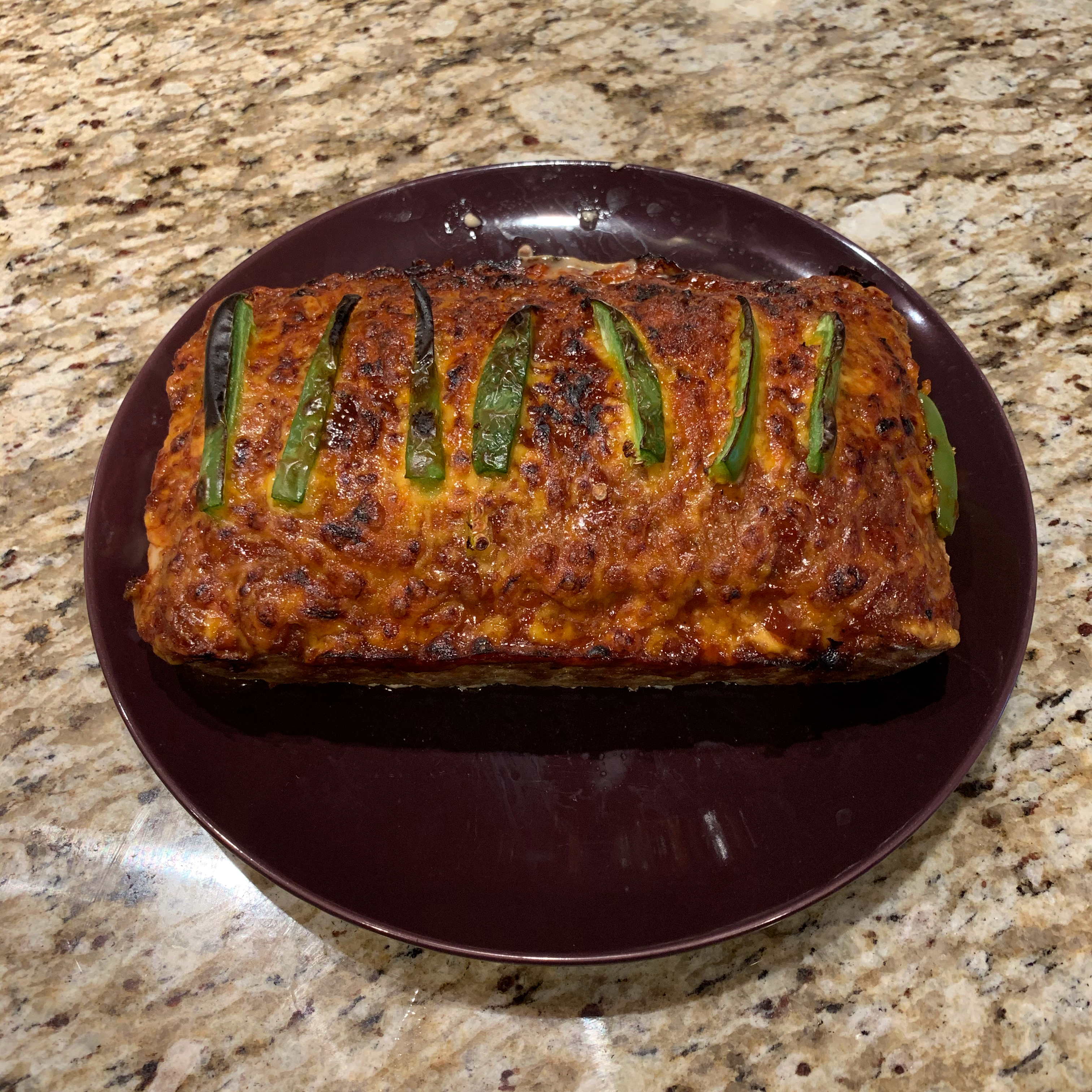 Jalapeno Popper-Stuffed Meatloaf