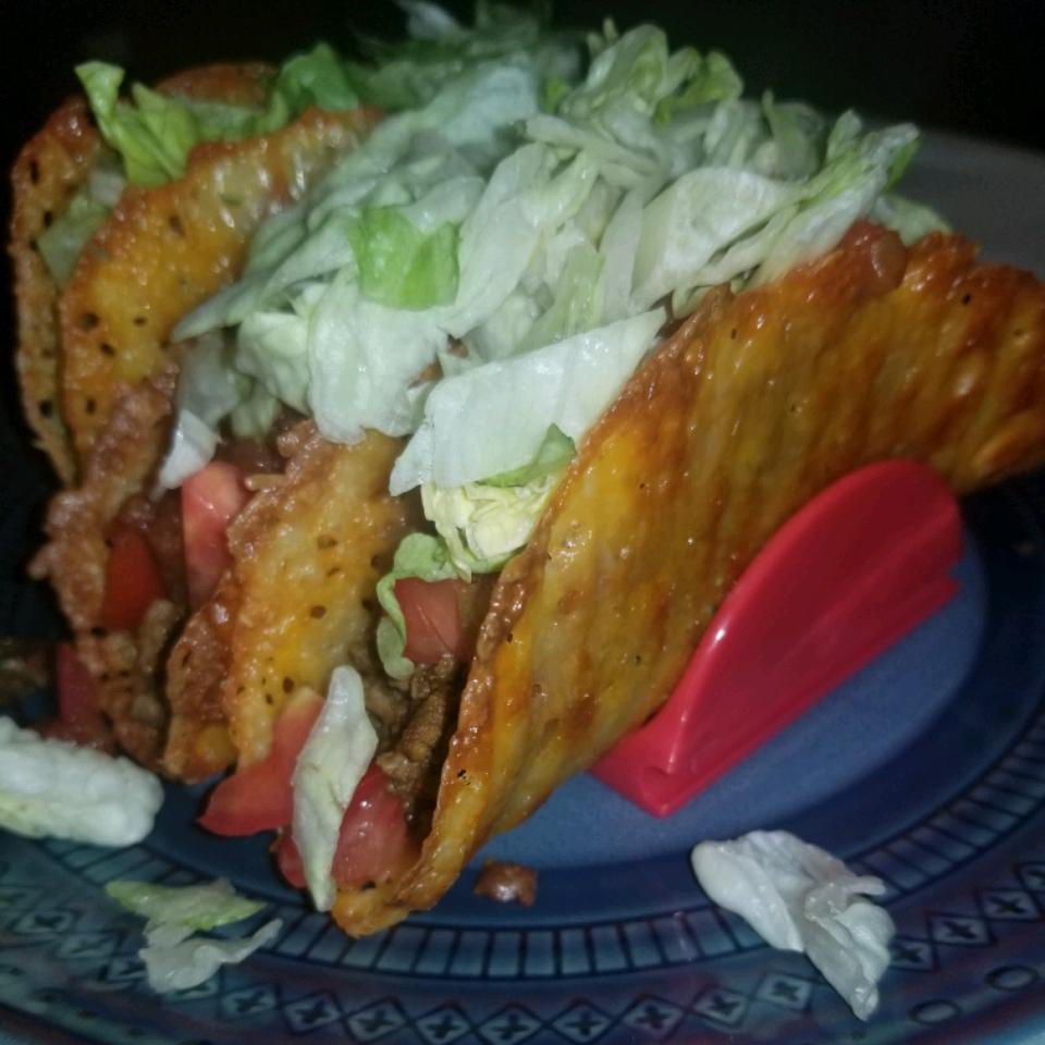 Low-Carb Keto Cheese Taco Shells Dawn89
