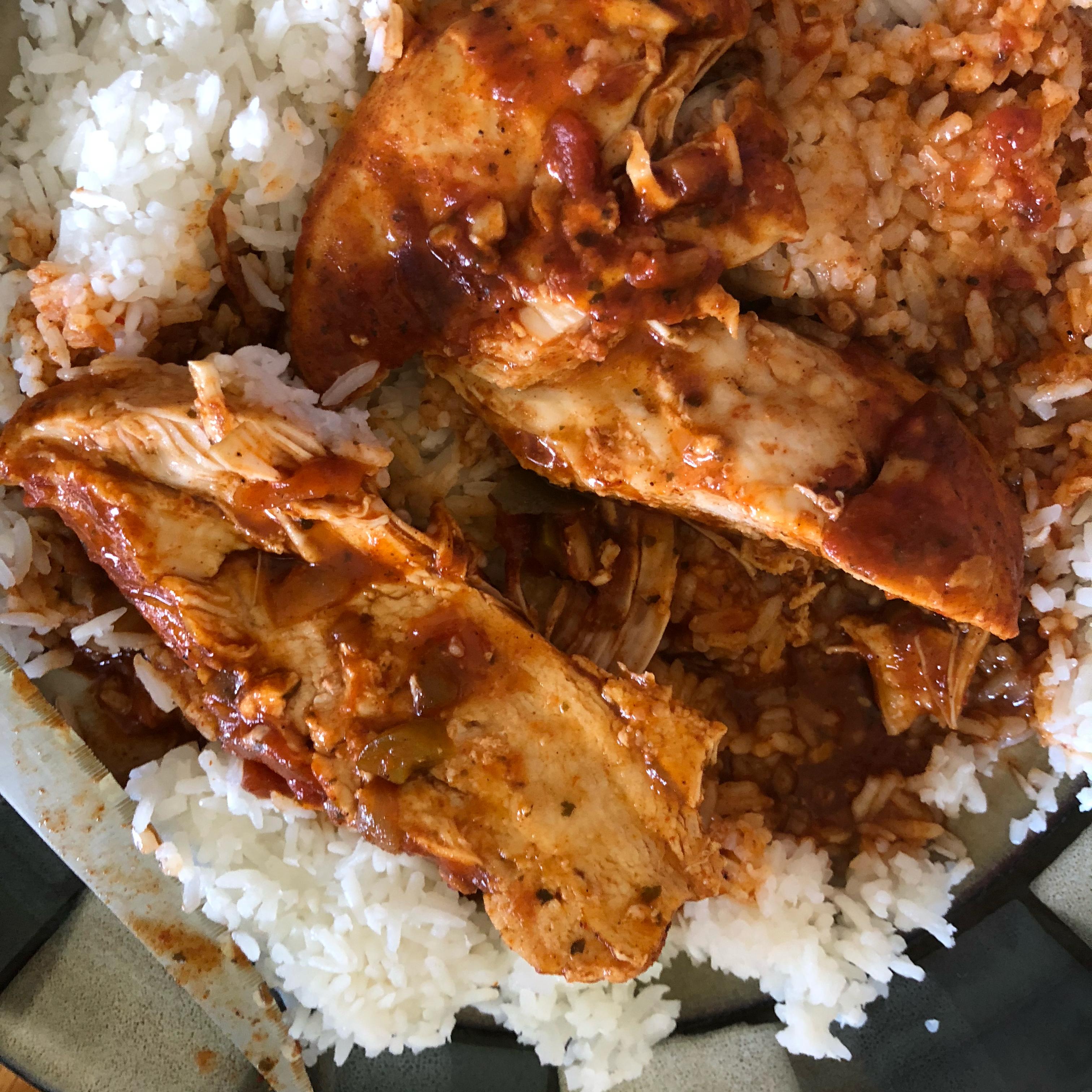 Instant Pot® Salsa Chicken
