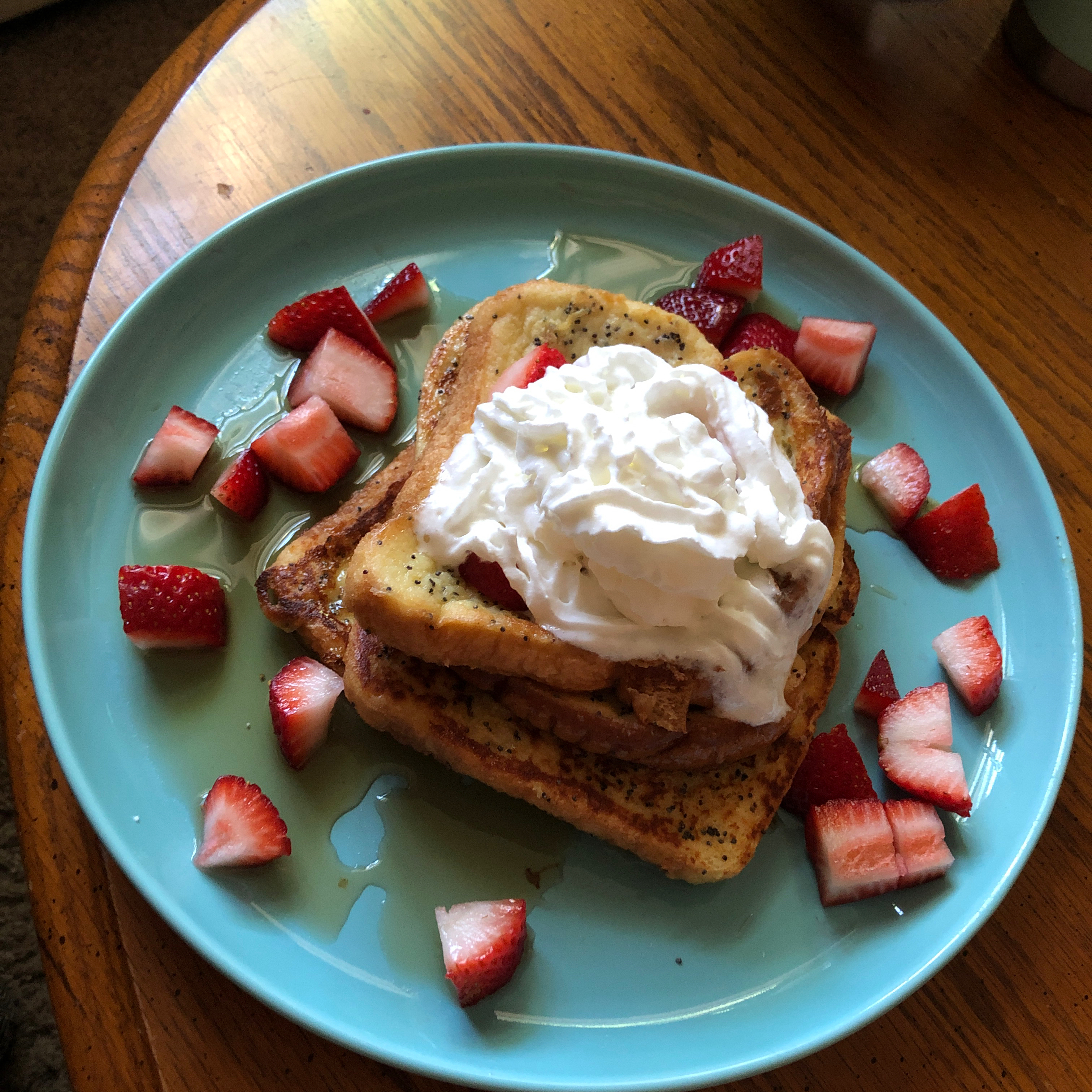 Poppy Seed French Toast