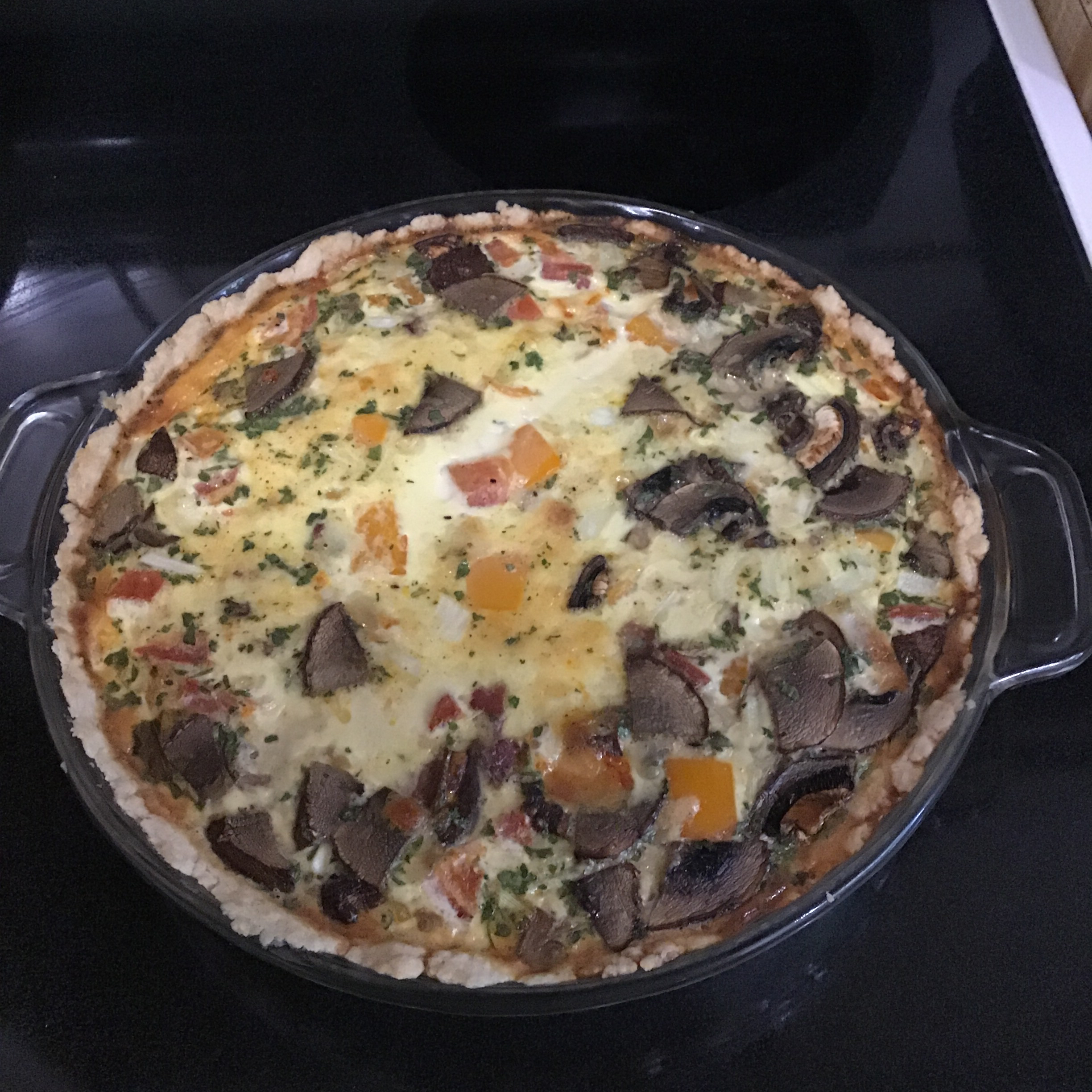 Basic Quiche by Shelly