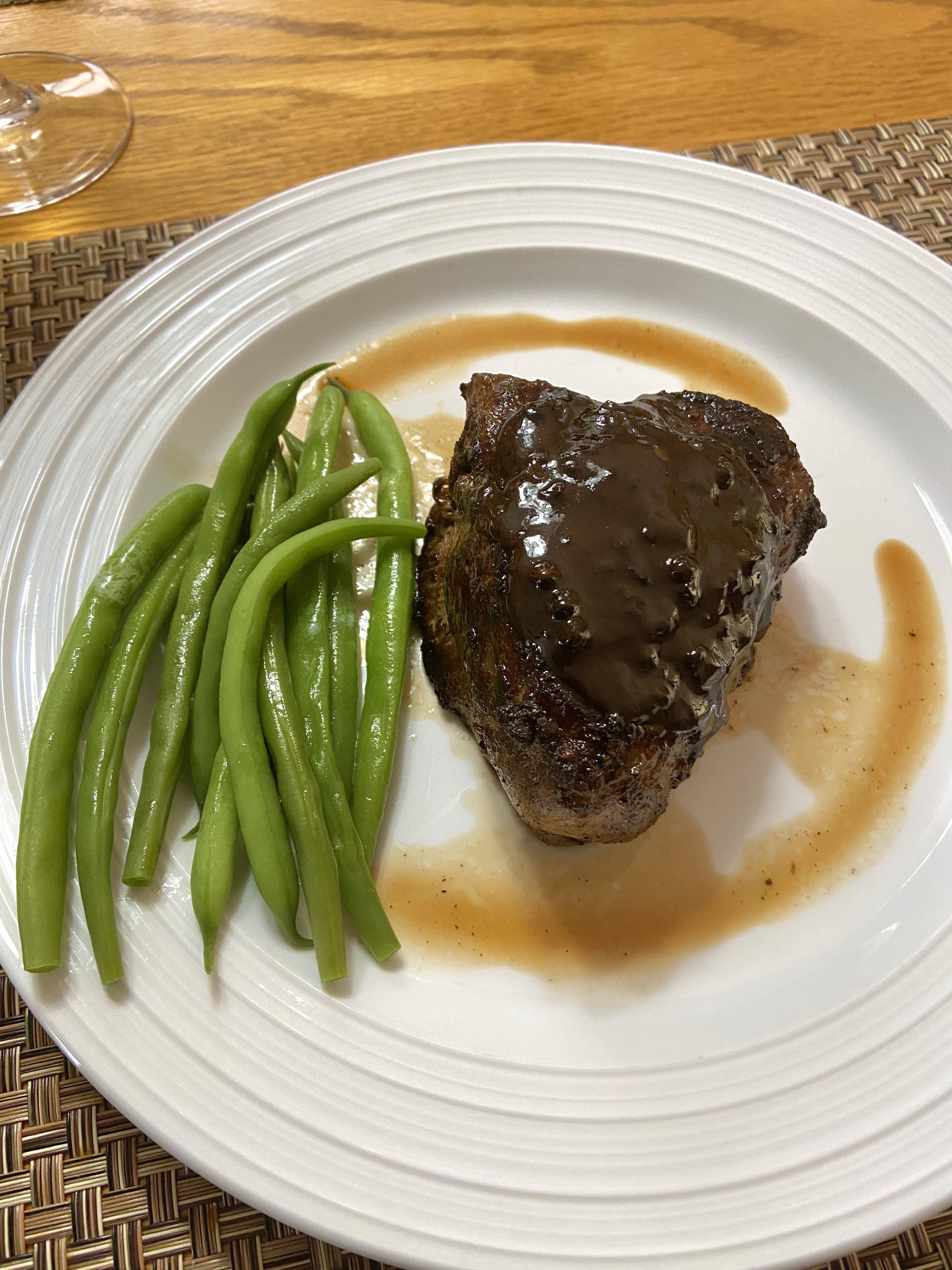 Steak au Poivre Peter Goulah