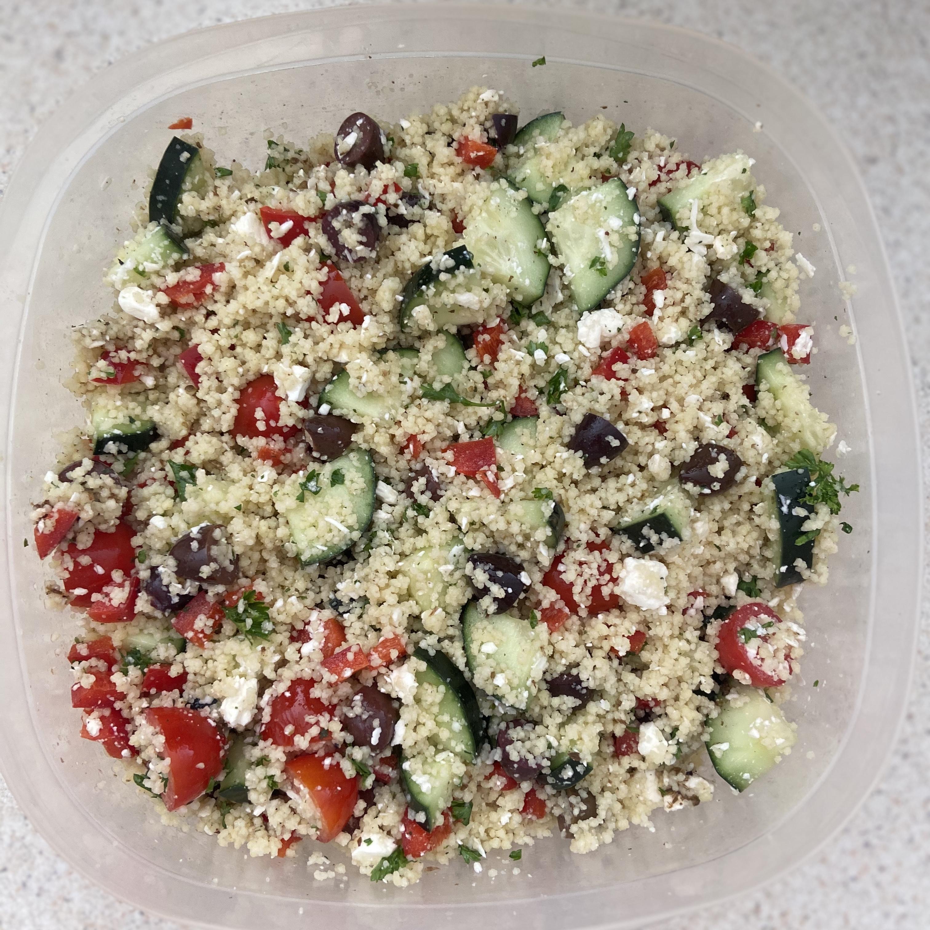 Party-Size Greek Couscous Salad Michelle