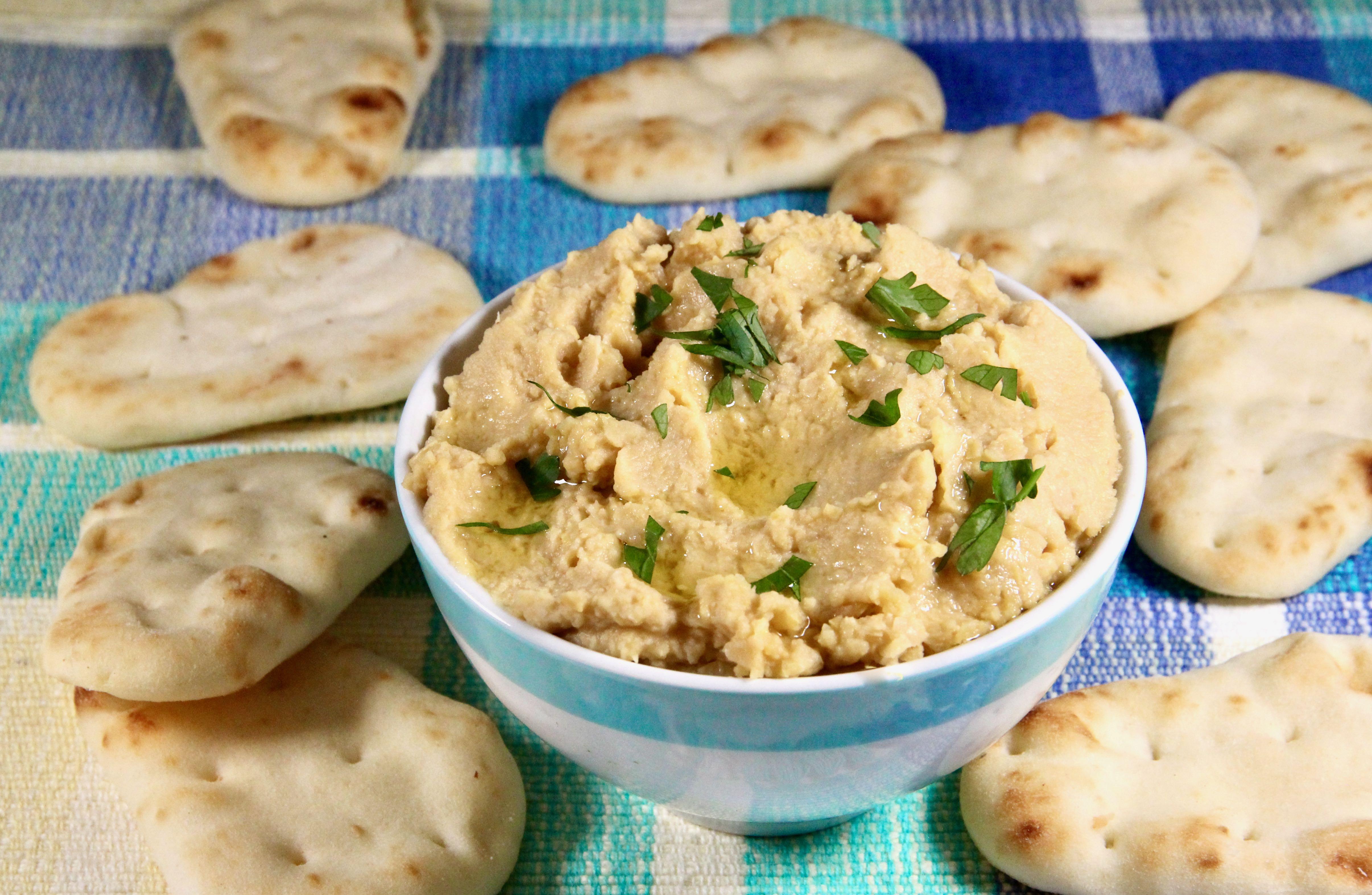No-Tahini Hummus