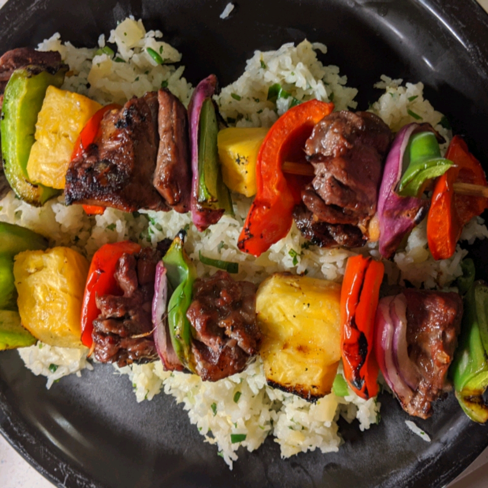 Pineapple-Lime Rice Ken Dudley