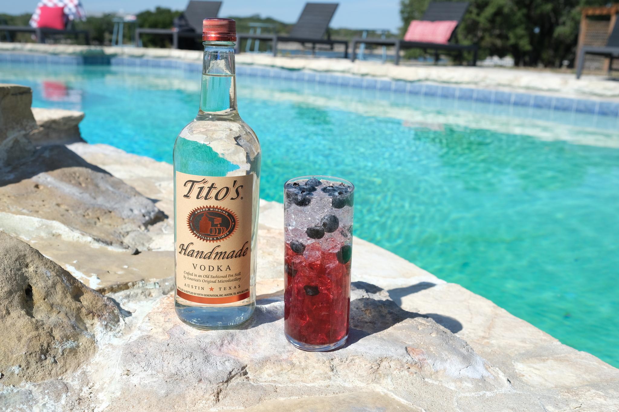Tito's Red, White & Boozy Tito's Handmade Vodka