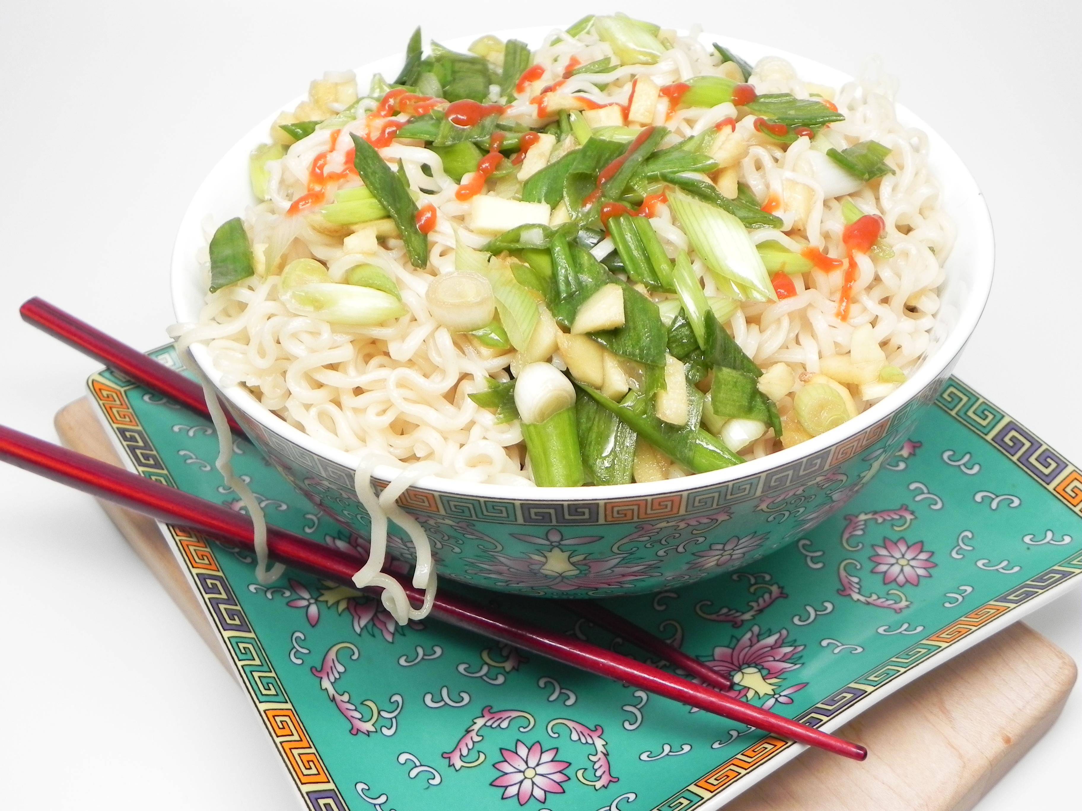 Easy Ginger-Scallion Ramen Noodles image