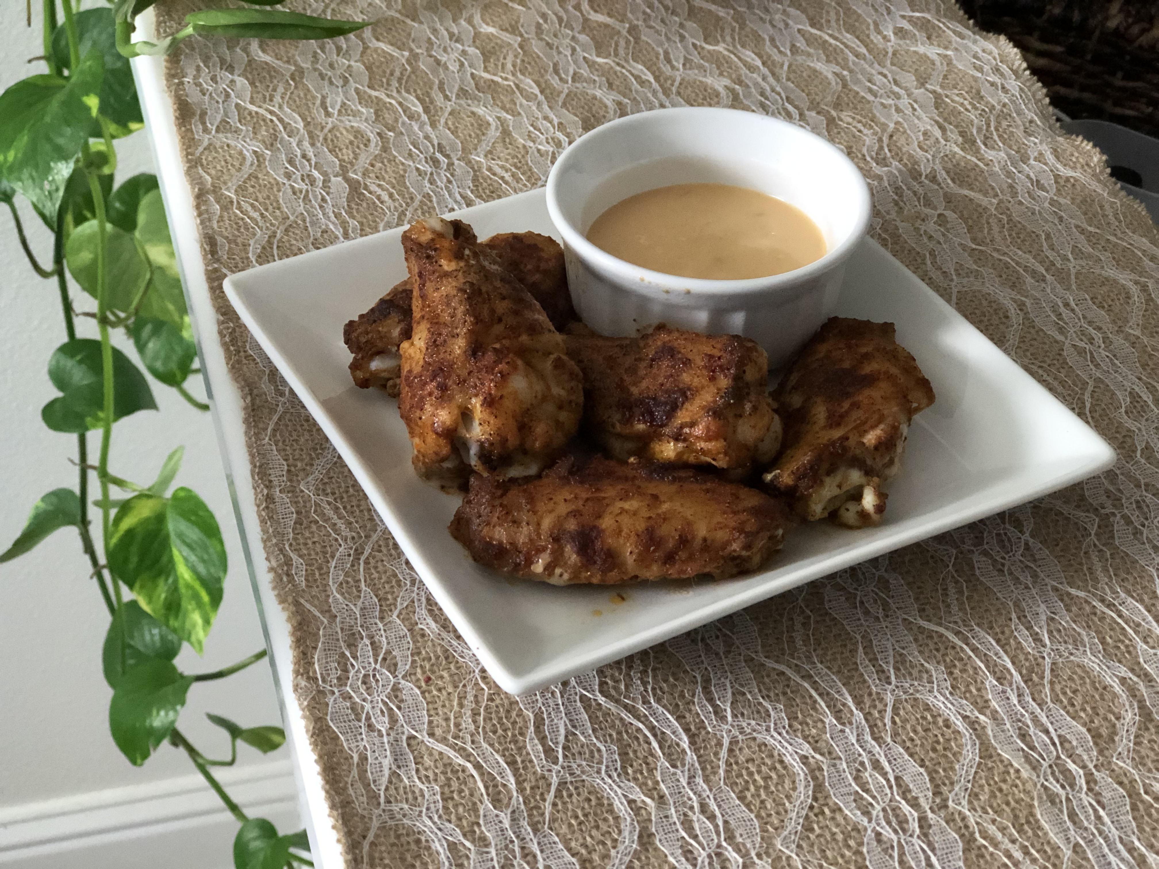 Baked Brown Sugar Wings