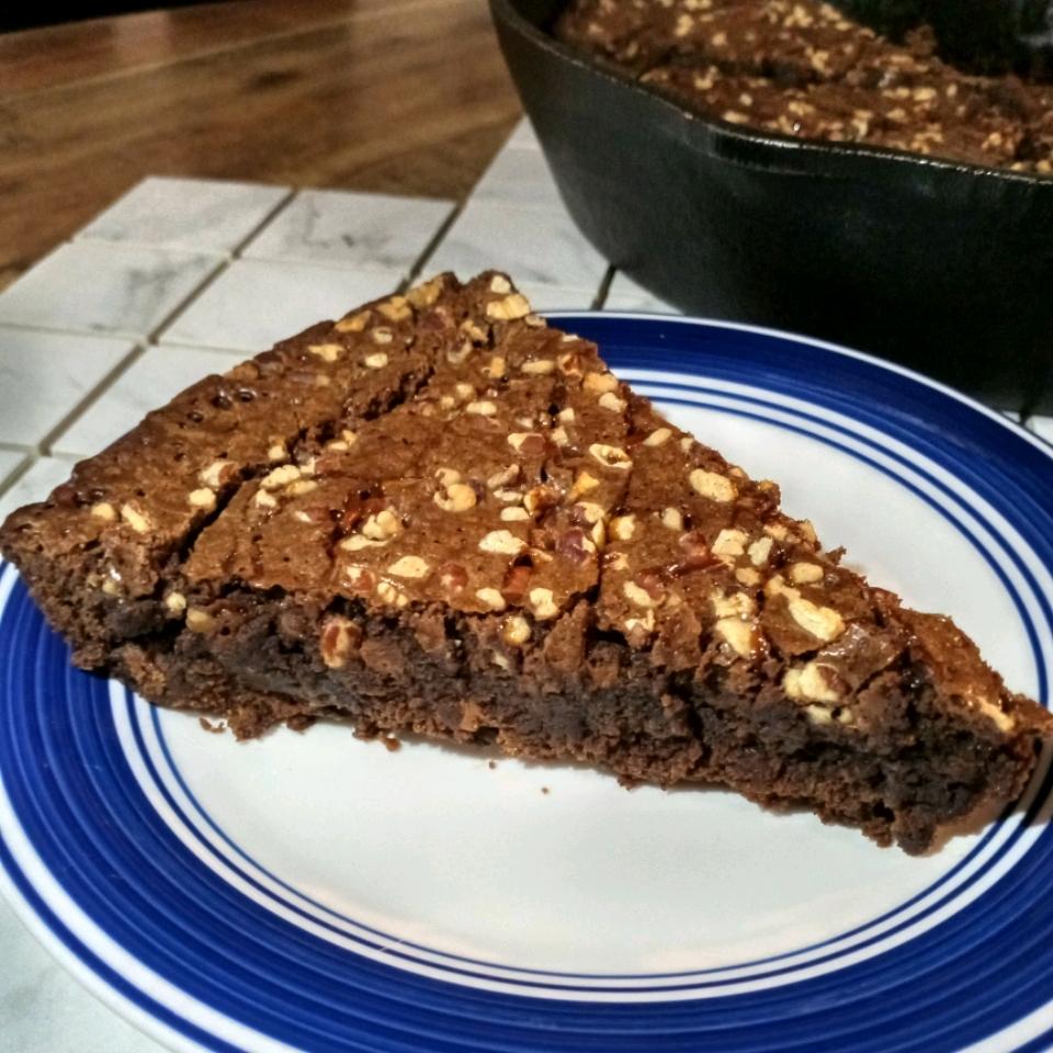 Uncle Drew's Skillet Brownies Eldratha